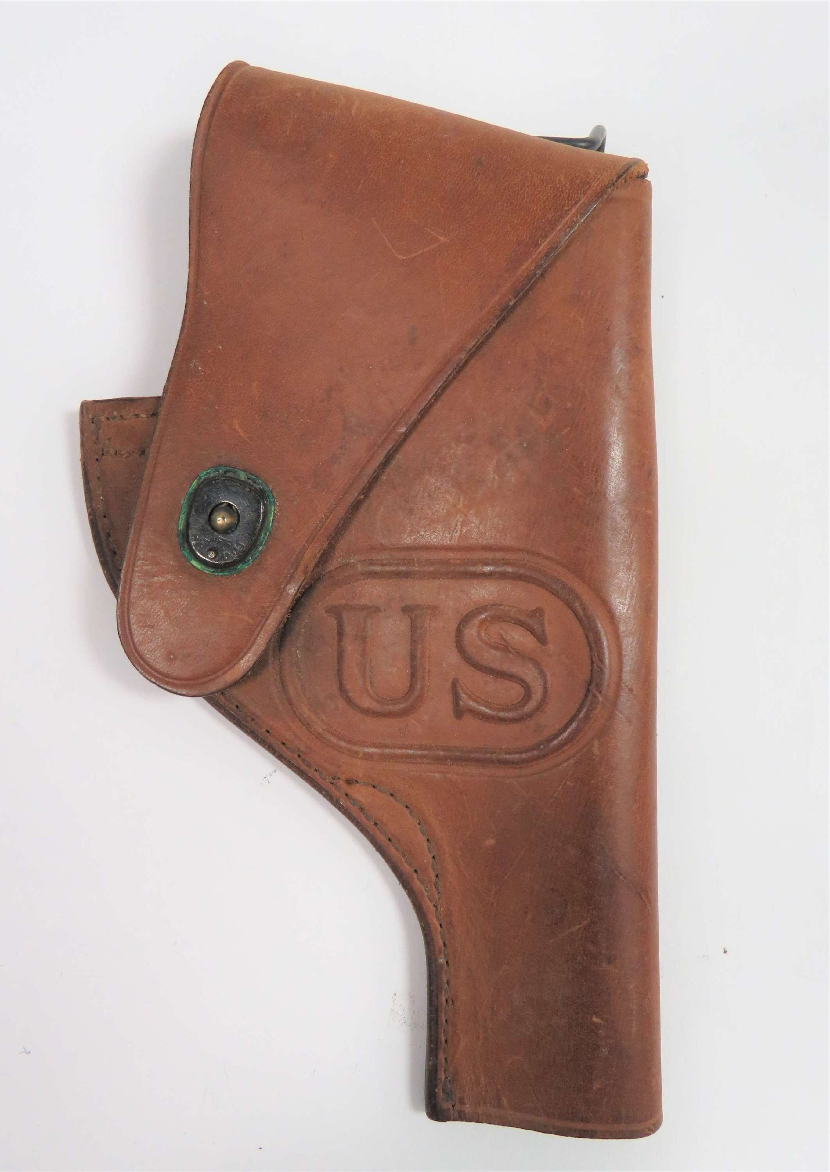 1943 Dated American Open Top Revolver Holster