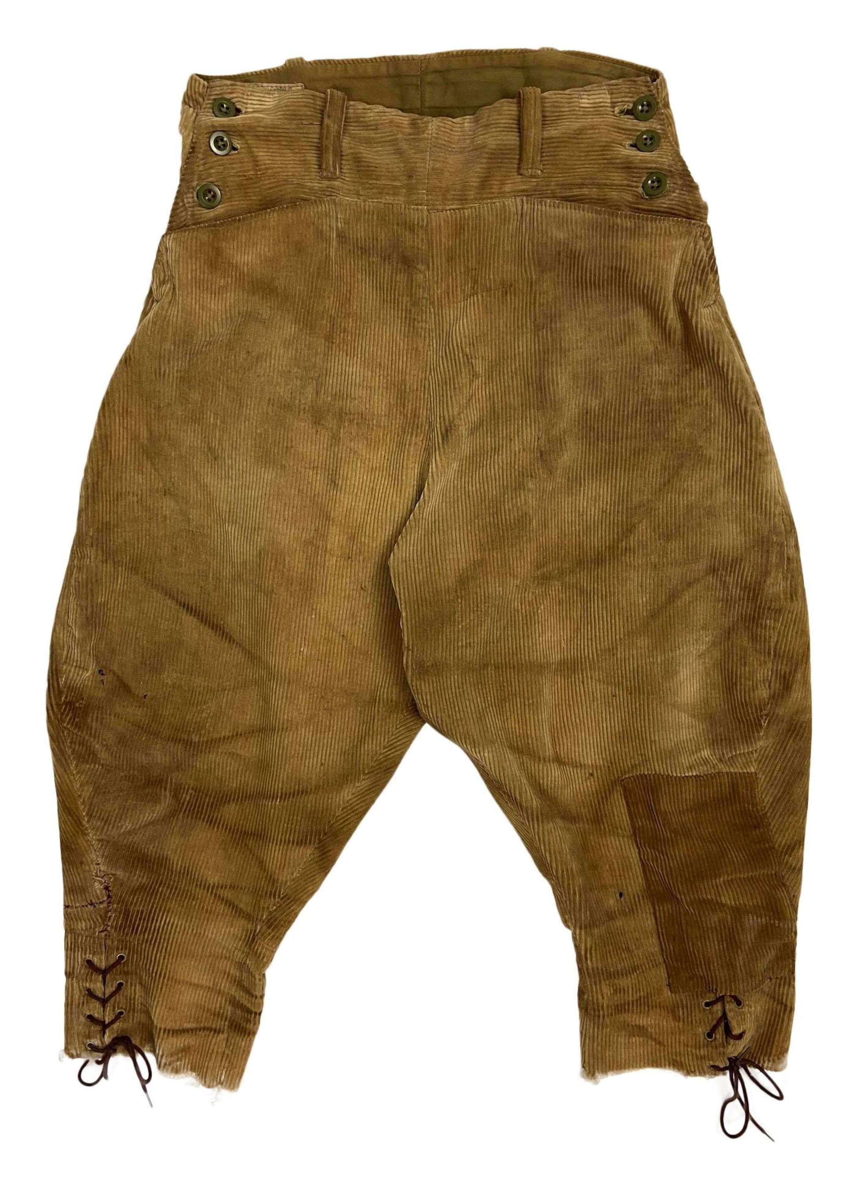 Original 1945 Dated Women's Land Army Breeches - Size 4