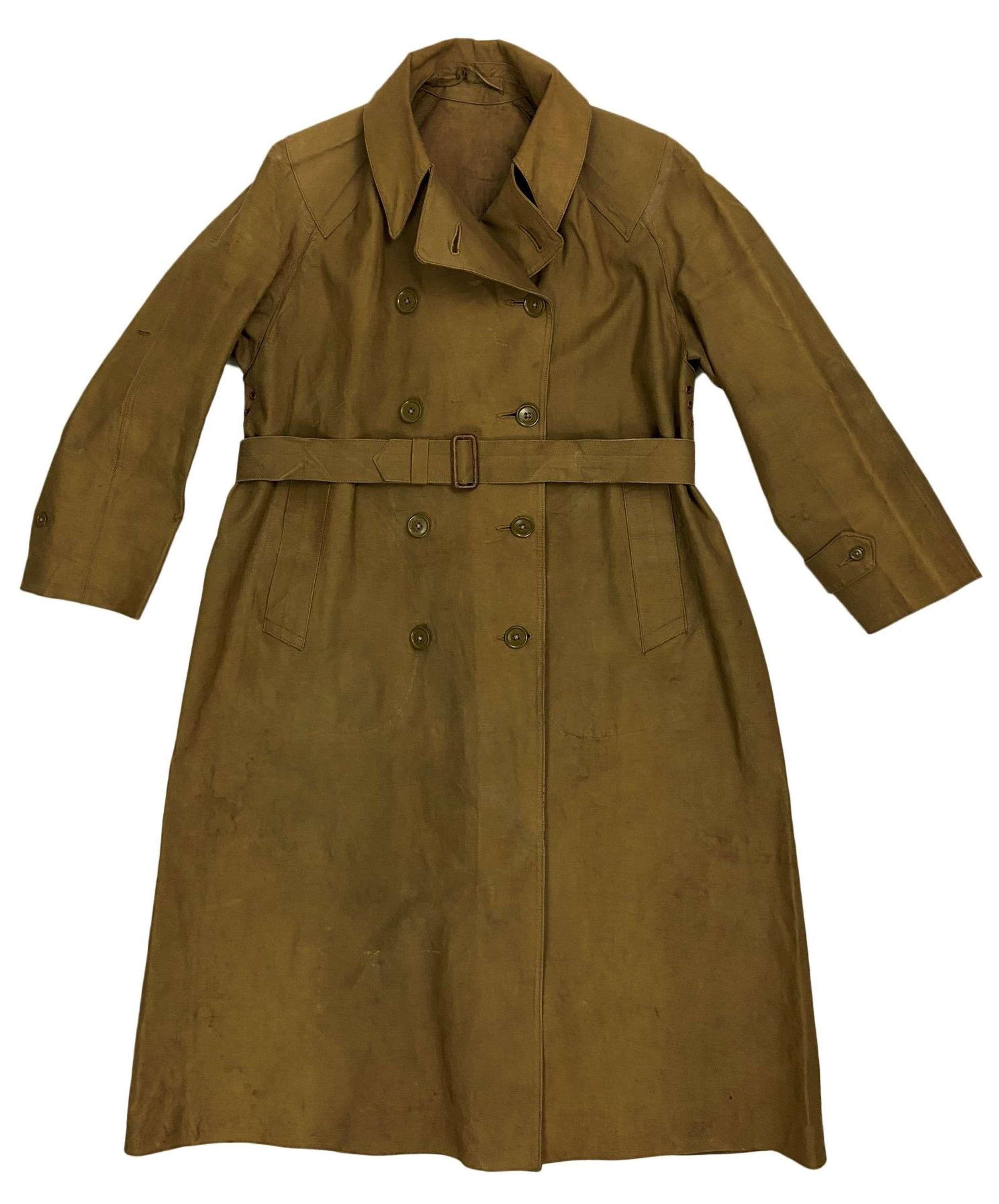 Original 1944 Dated Women's Land Army Raincoat