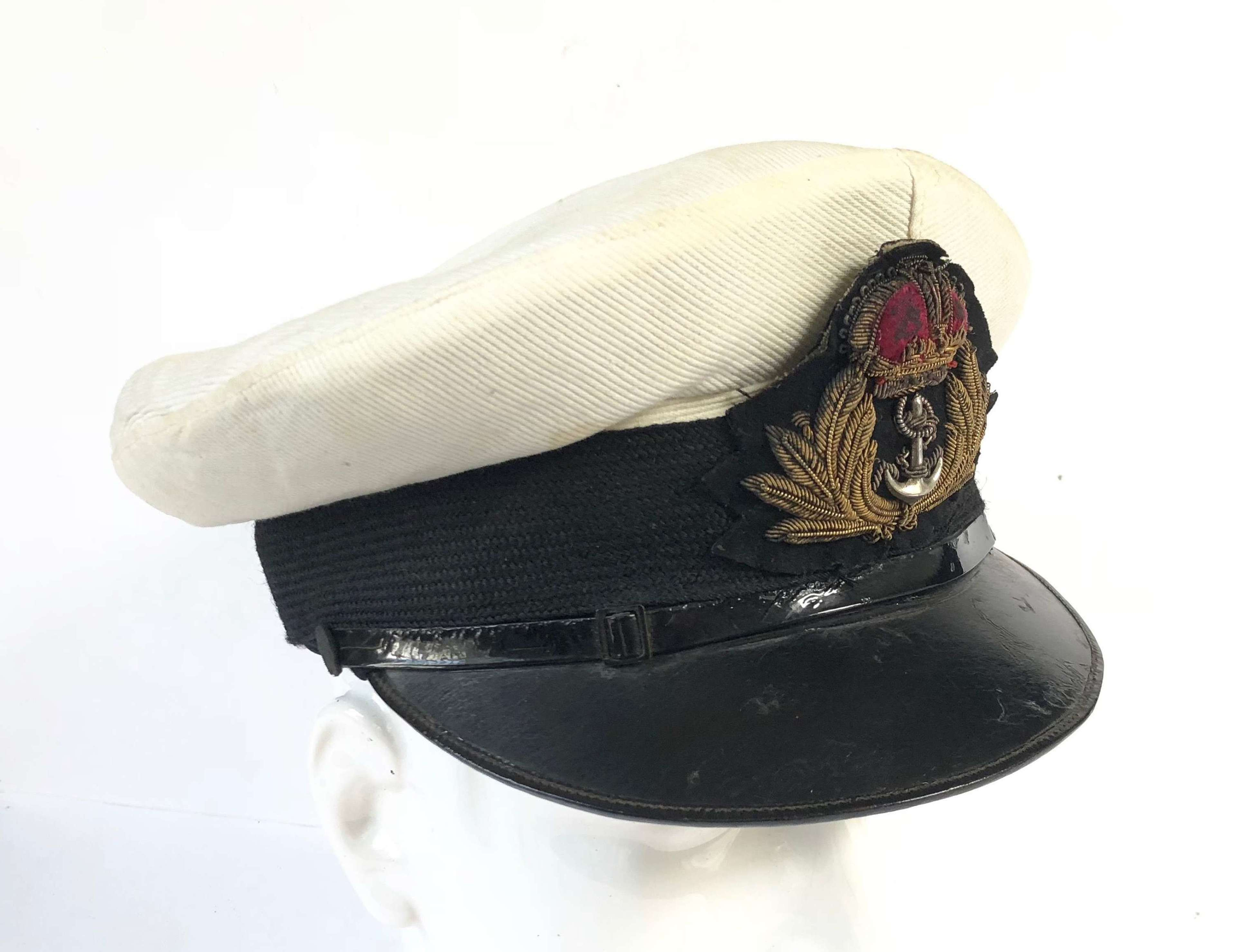 WW2 Royal Navy Officers Cap.