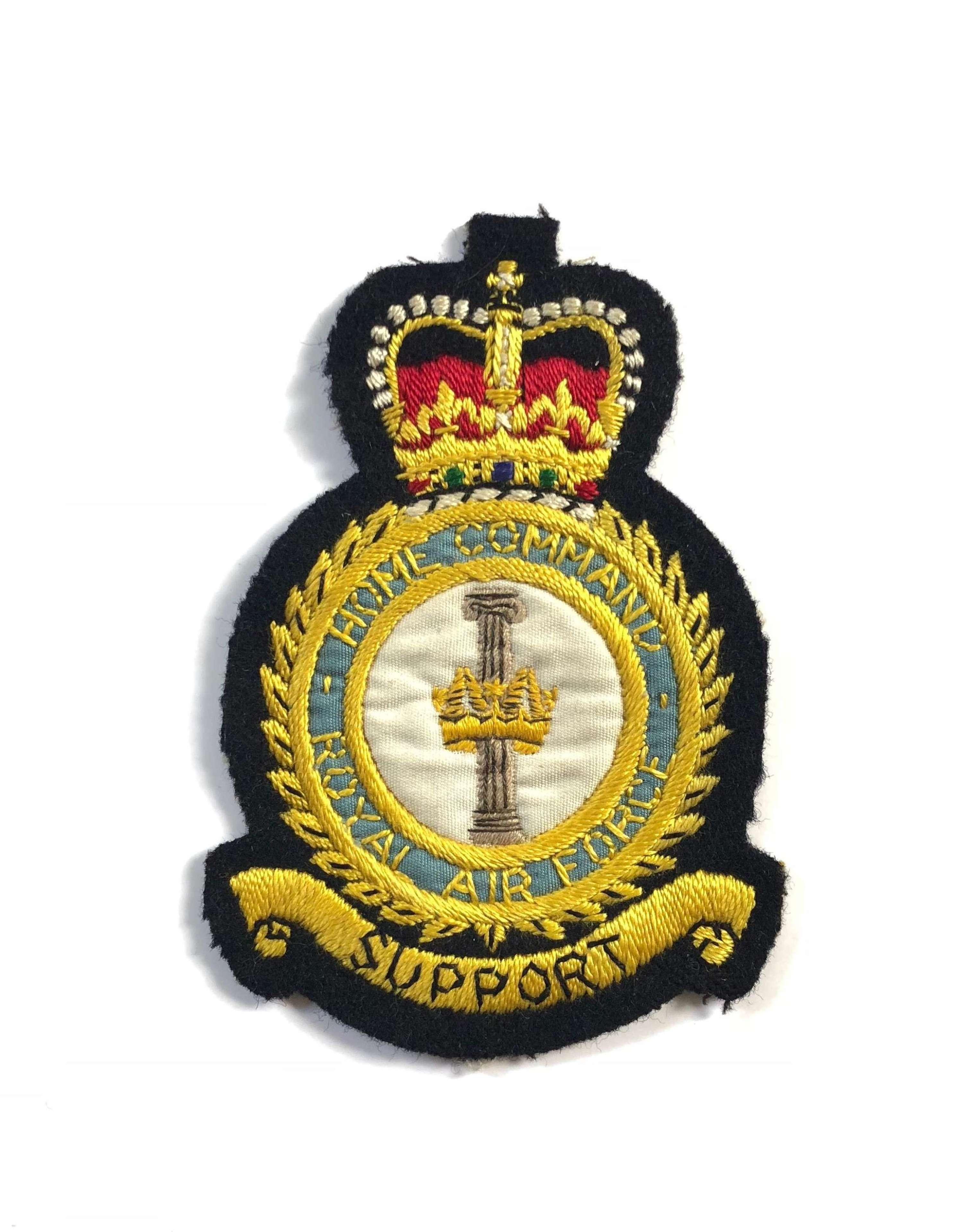 RAF Cold War Home Command Flying Suit Badge.