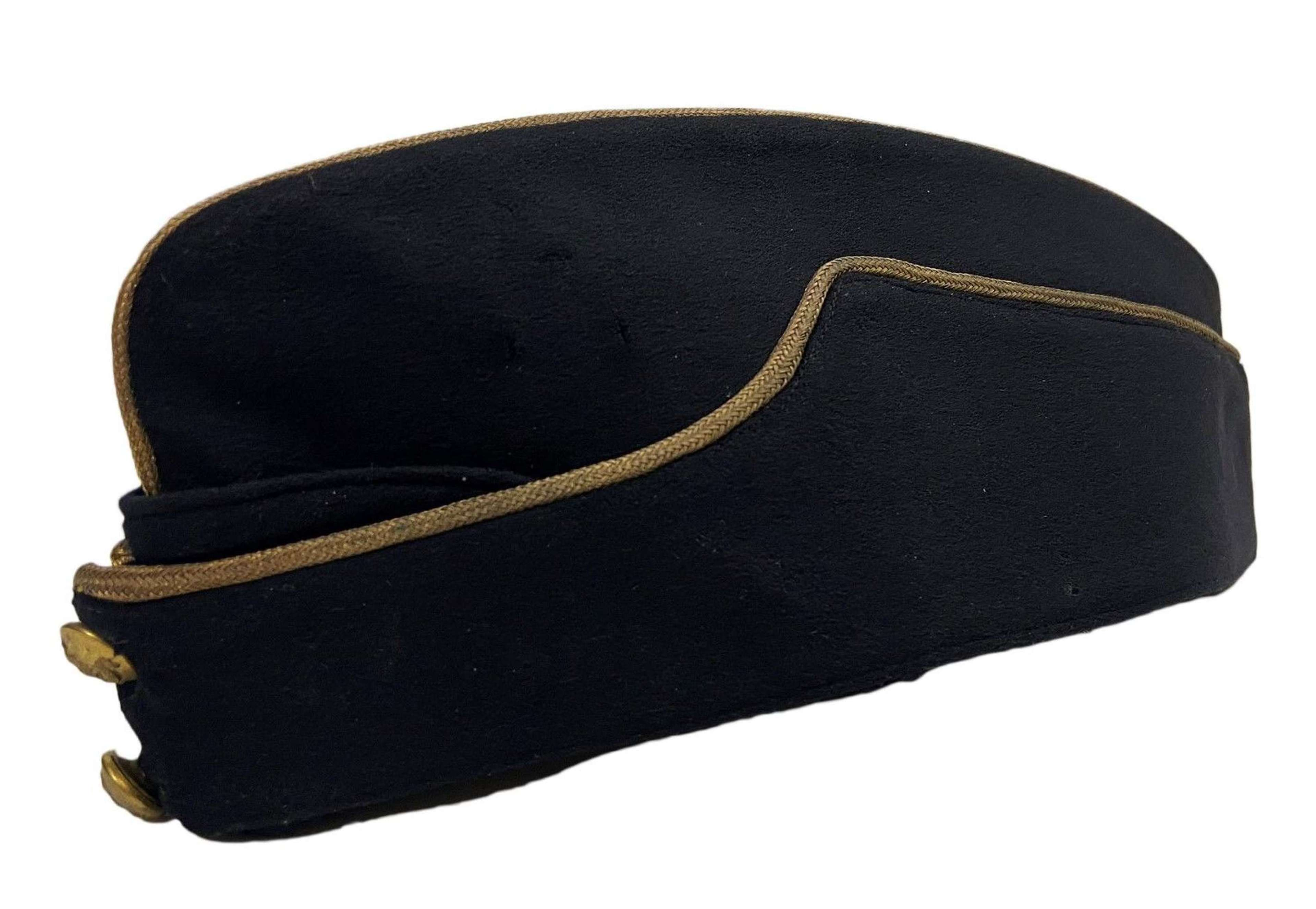 Original Royal Army Pay Corps Officers Coloured Field Service Cap