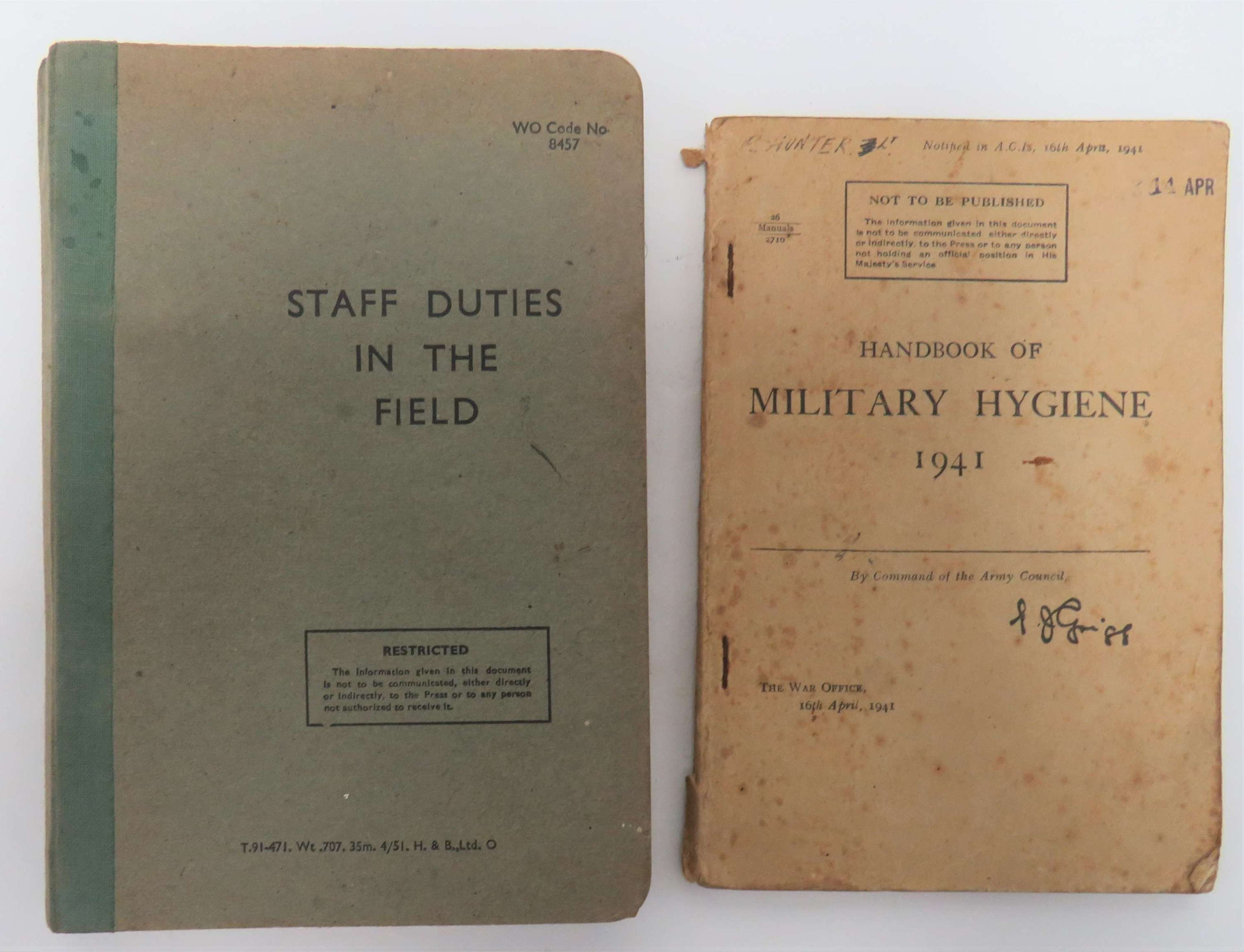 Two Military Manuals