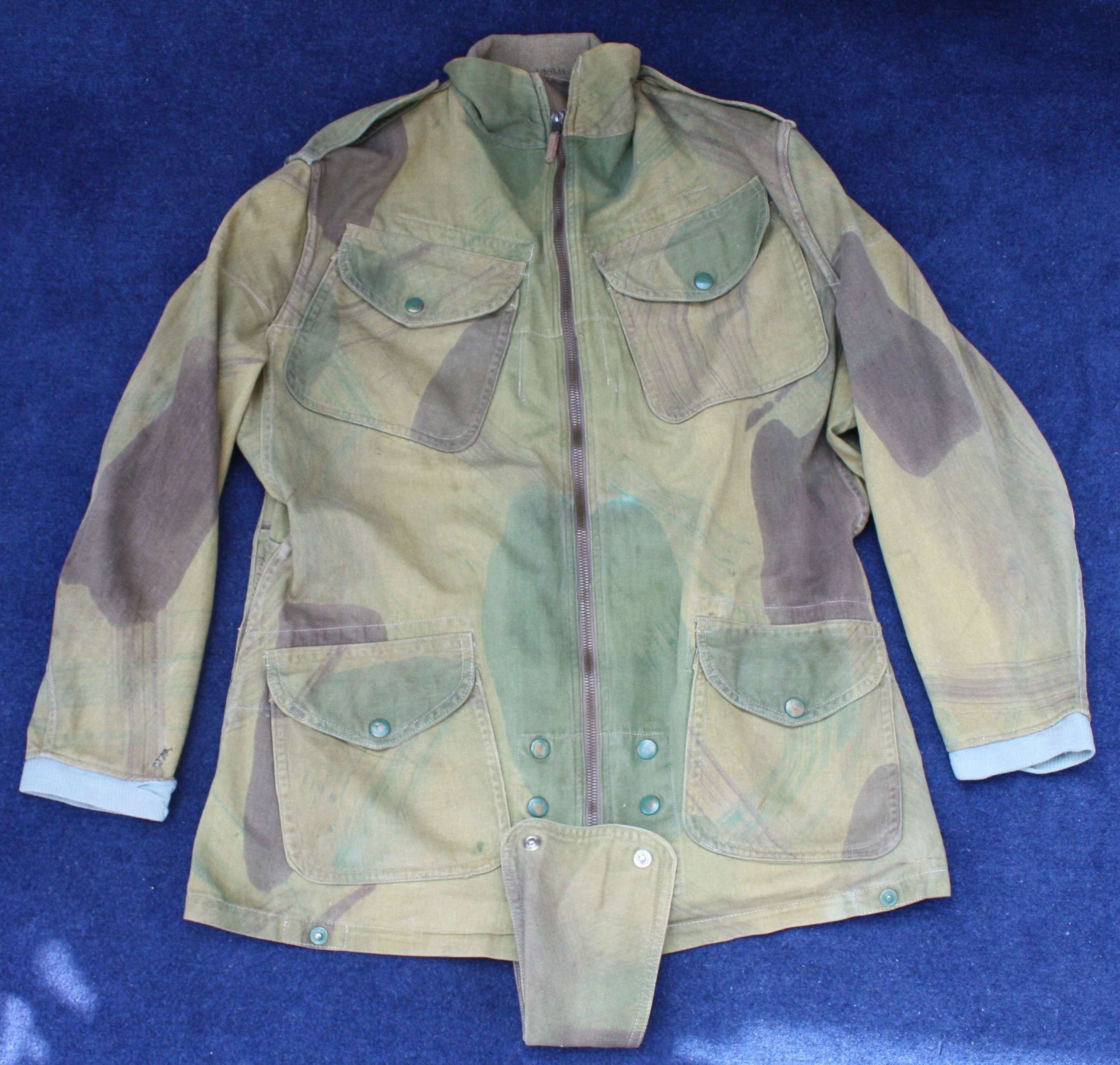 Post WW2 British Denison Smock worn by Parachutists & Special Forces