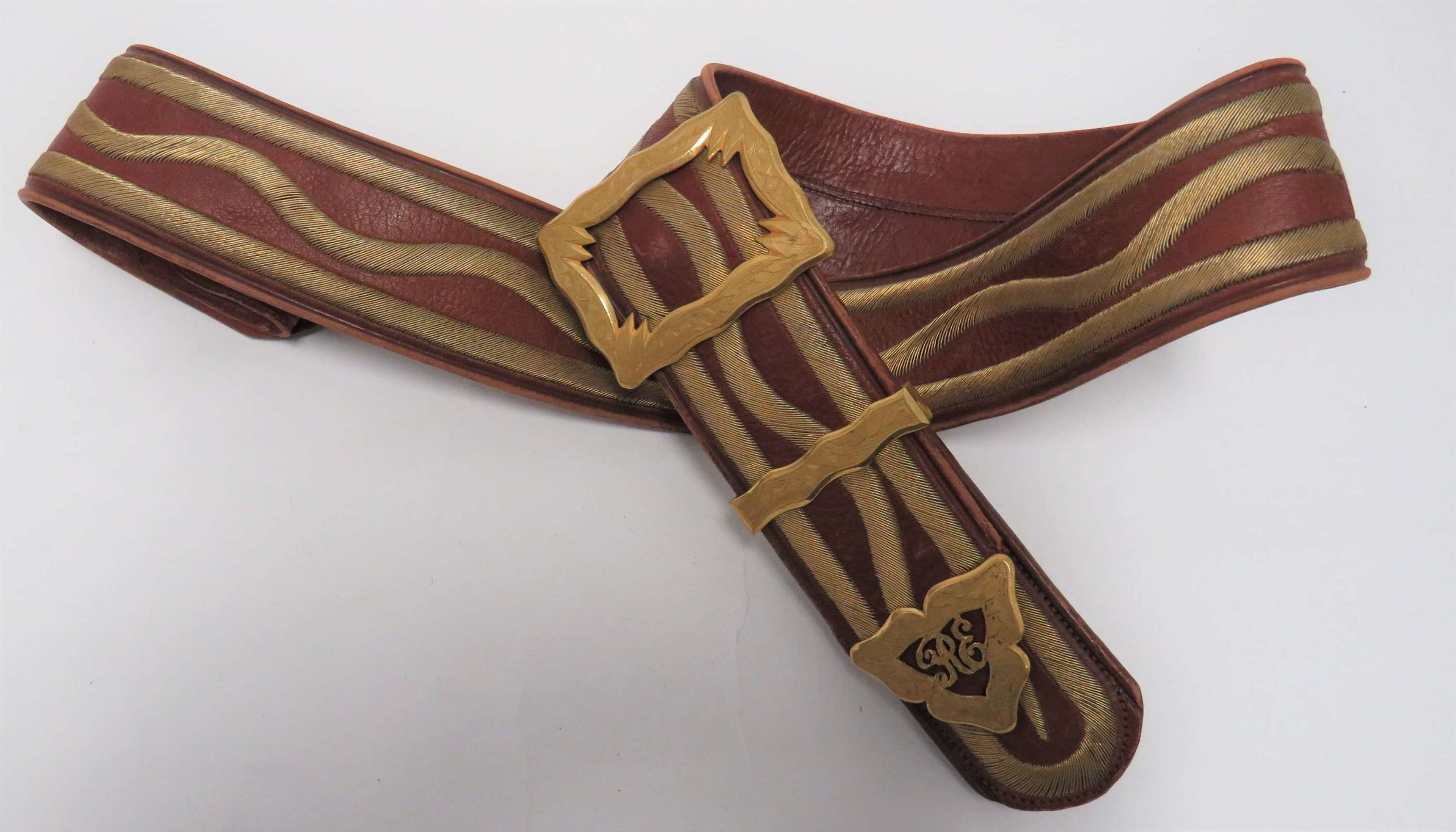 Early 20th Century Royal Engineers Shoulder Strap