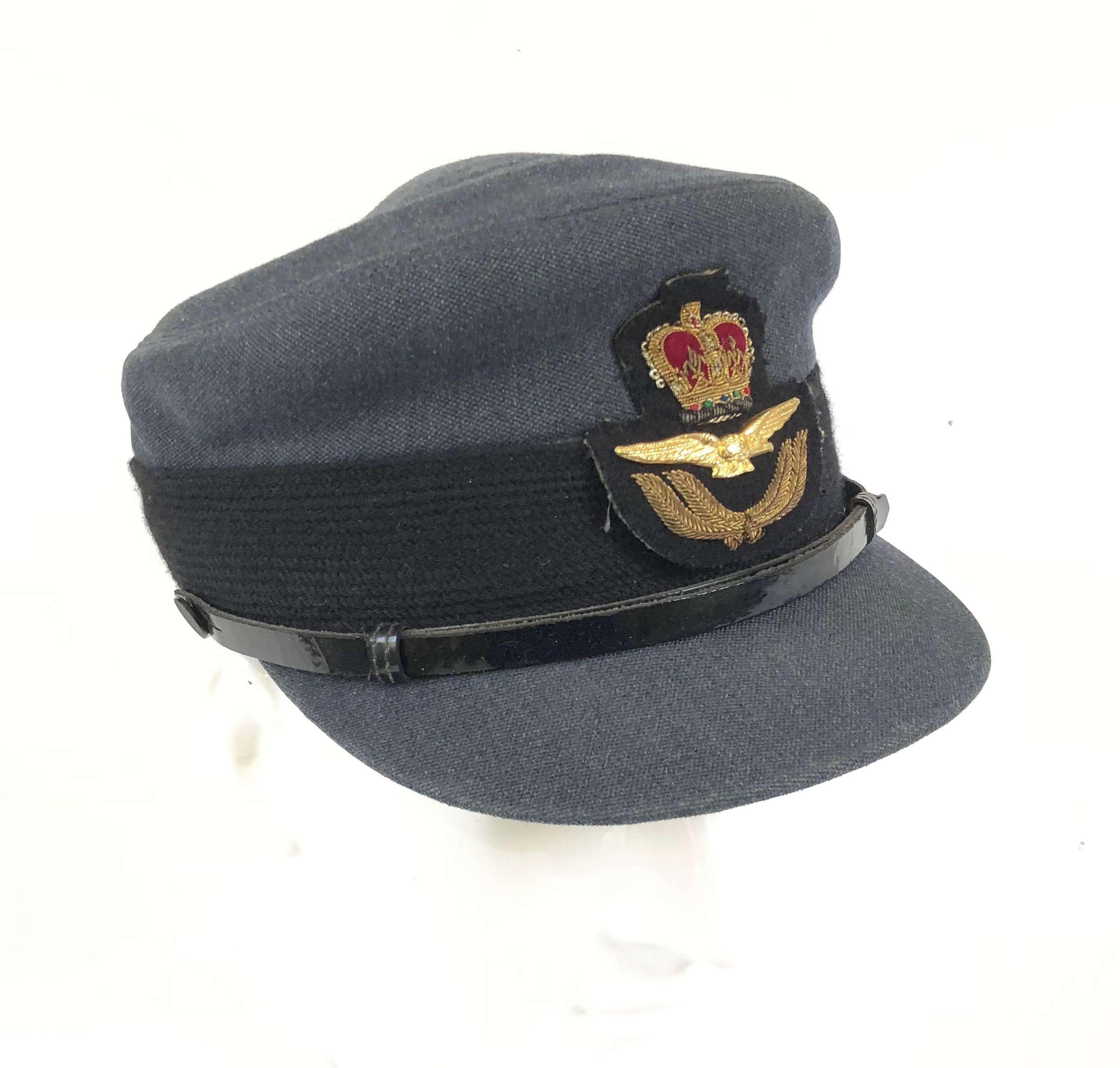 Women's Royal Air Force 1954 Pattern Officer's Cap.