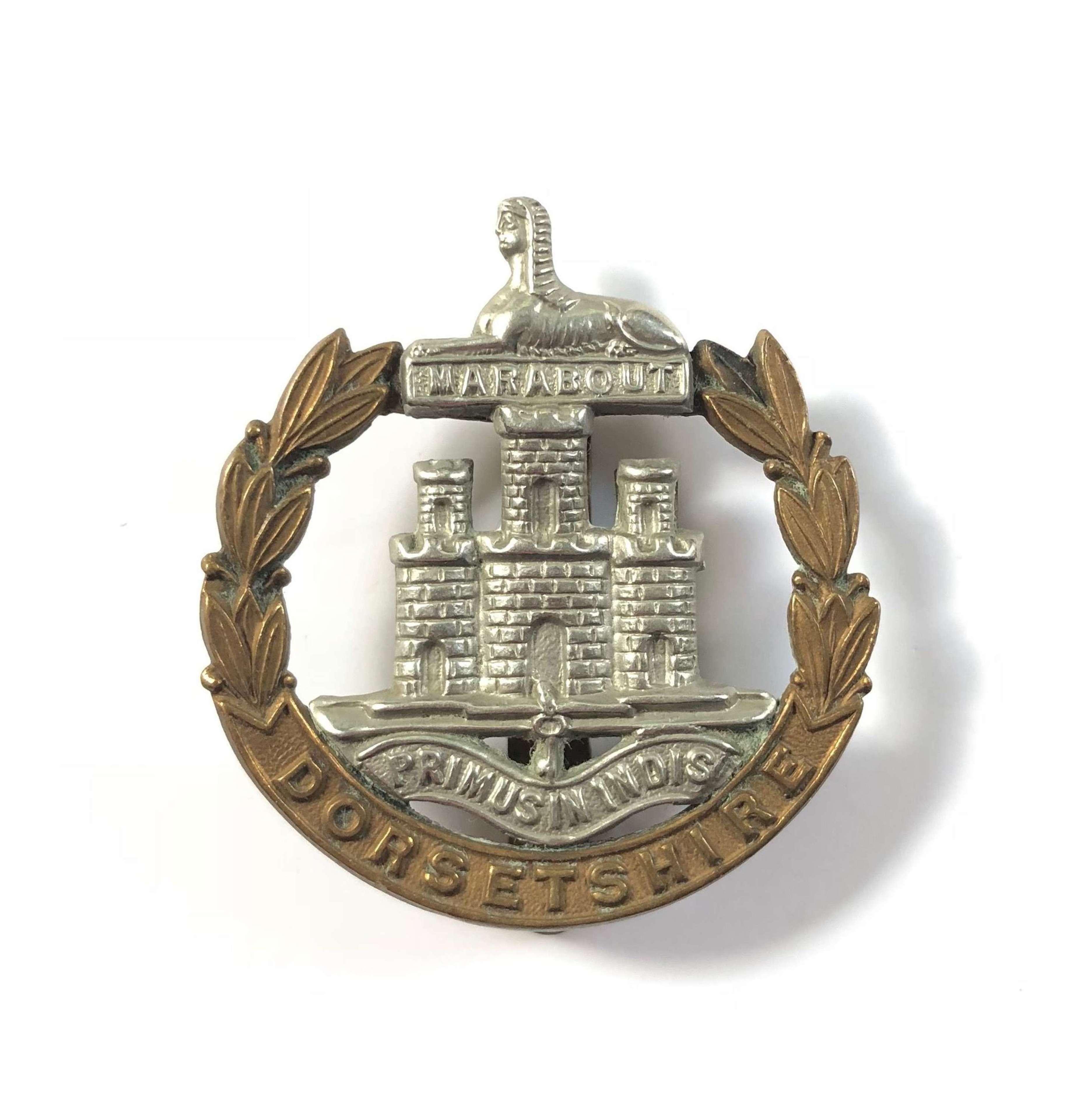 WW1/ WW2 Dorsetshire Regiment Cap Badge.