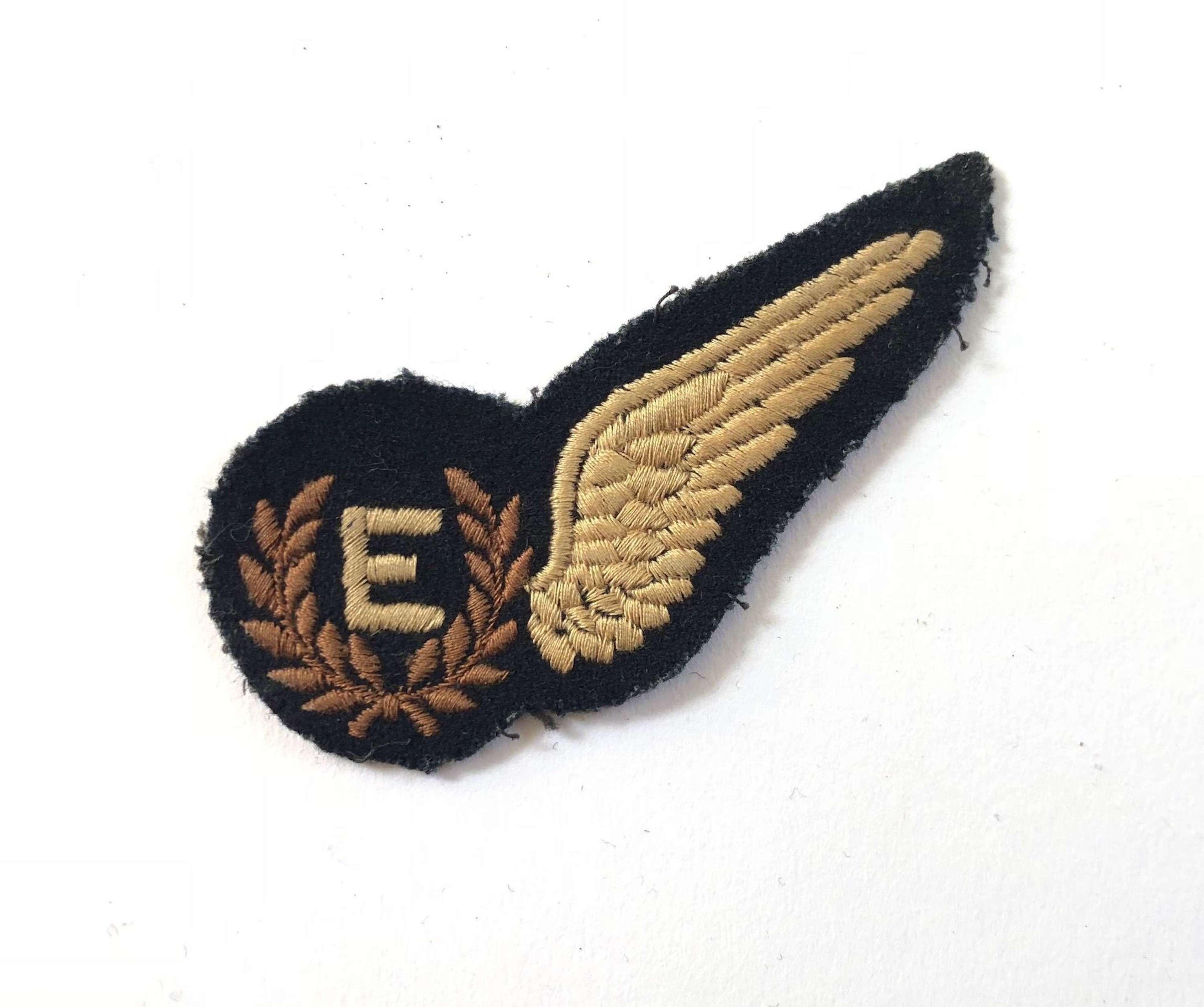 WW2 Period RAF Flight Engineer Brevet.