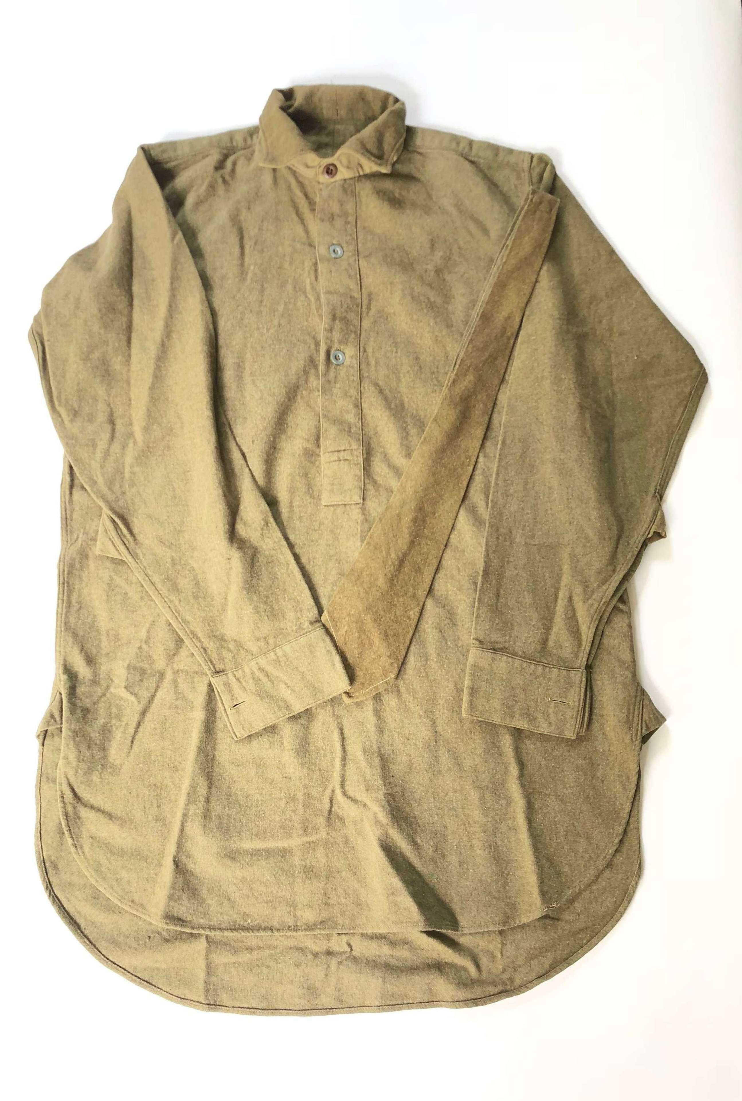 WW2 Pattern British Army Issue Shirt.