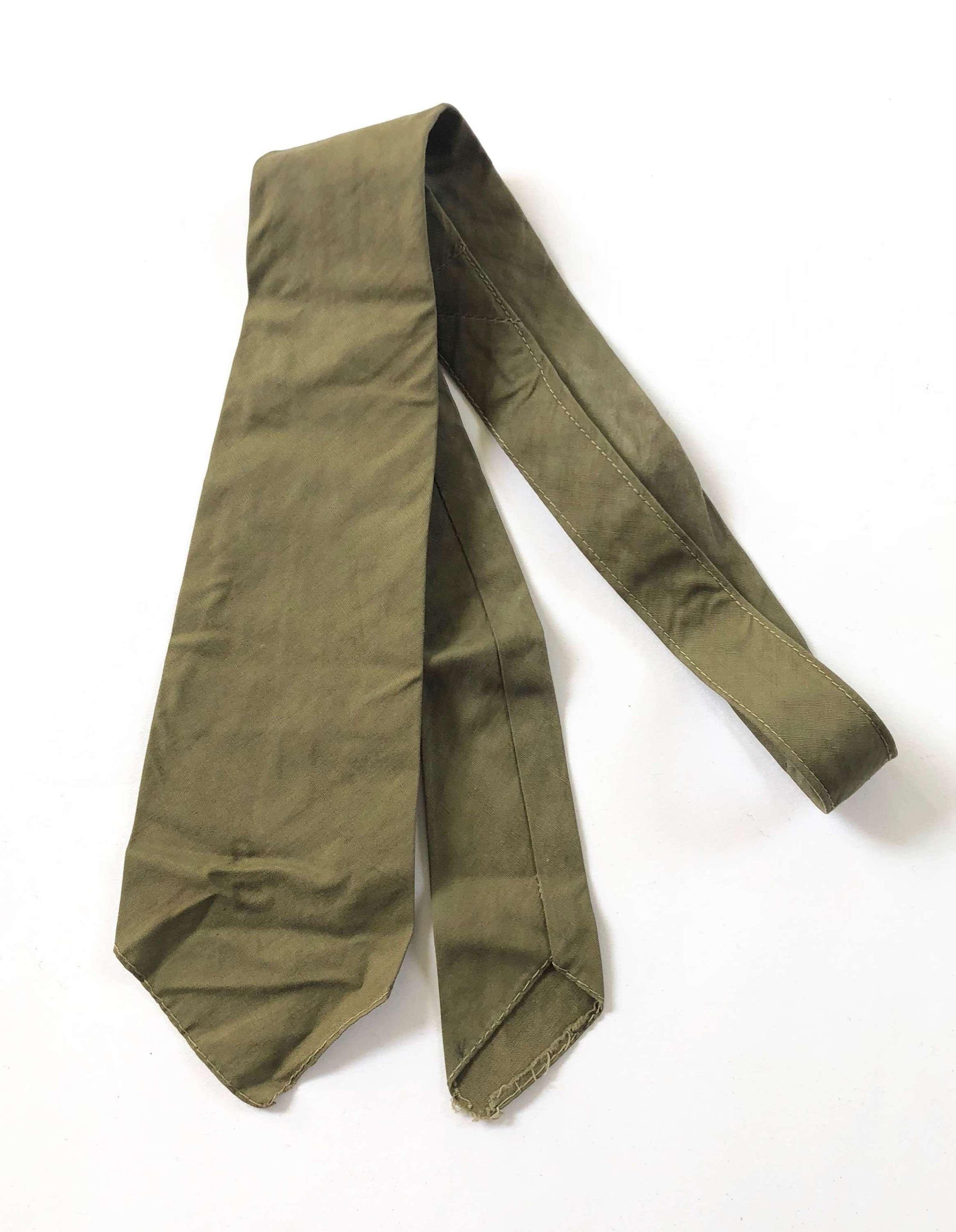 WW1 / WW2 Pattern British Army Officer's Tie.