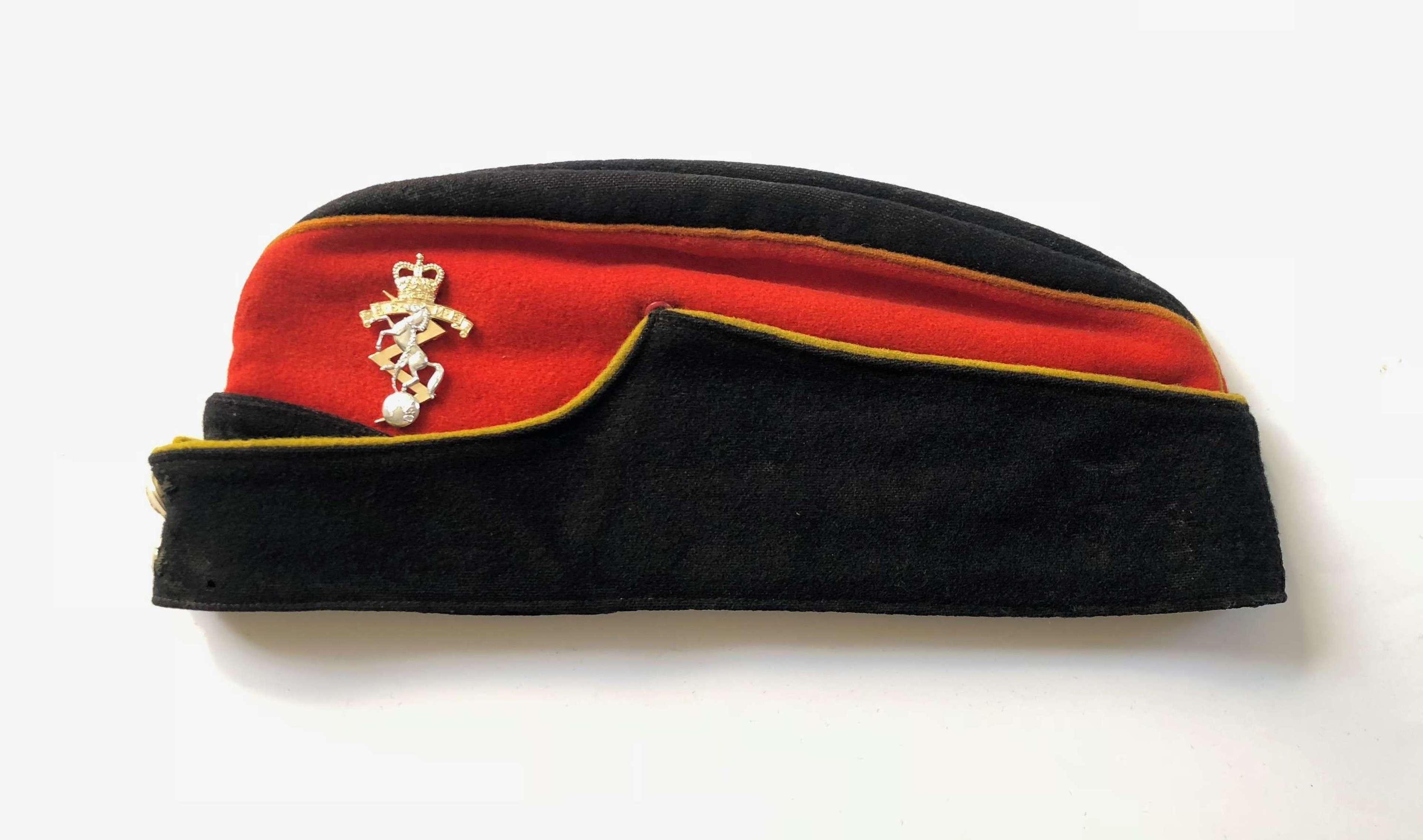 Cold War Period REME Coloured Side Cap.