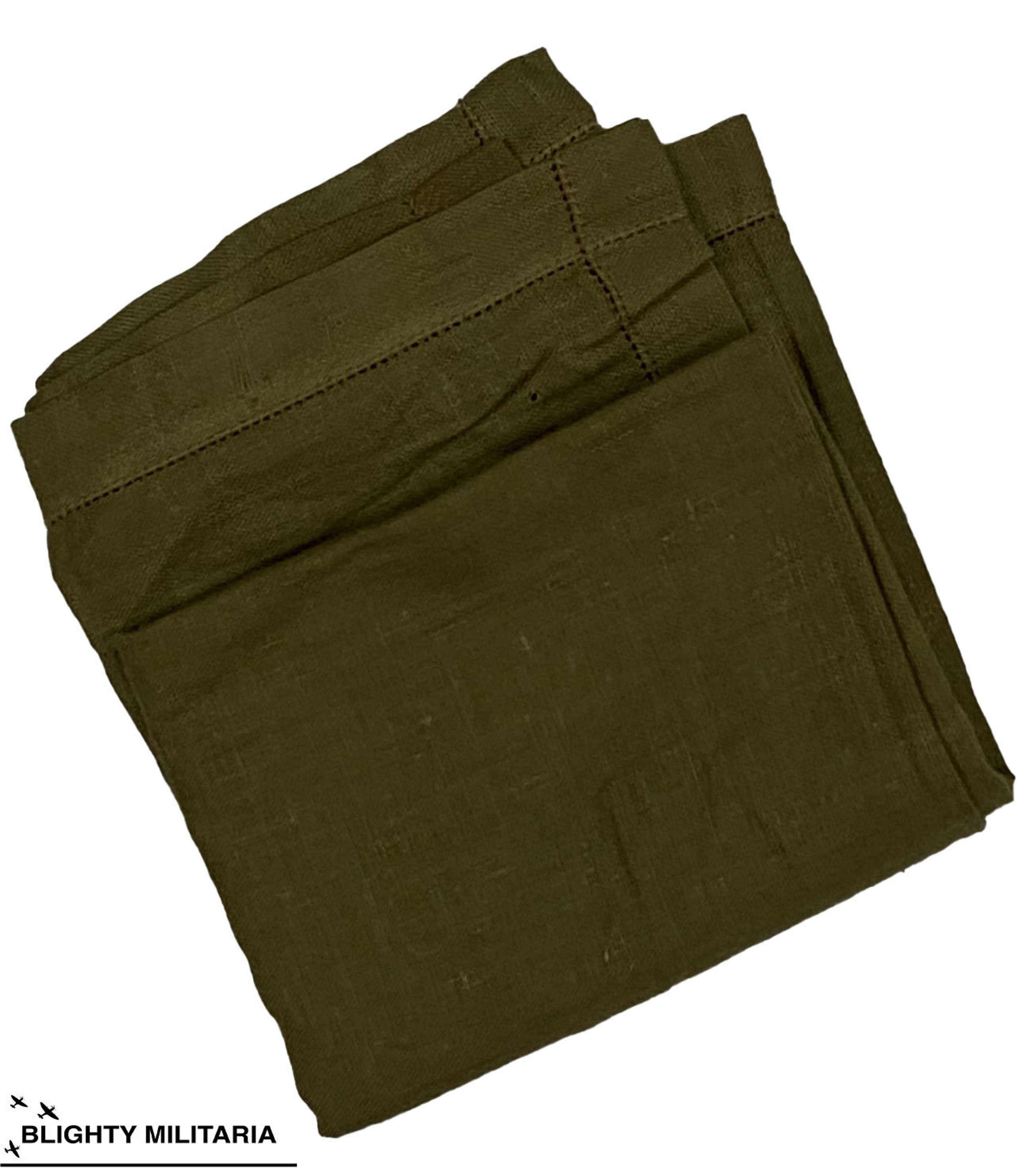 Original WW2 British Army Handkerchief