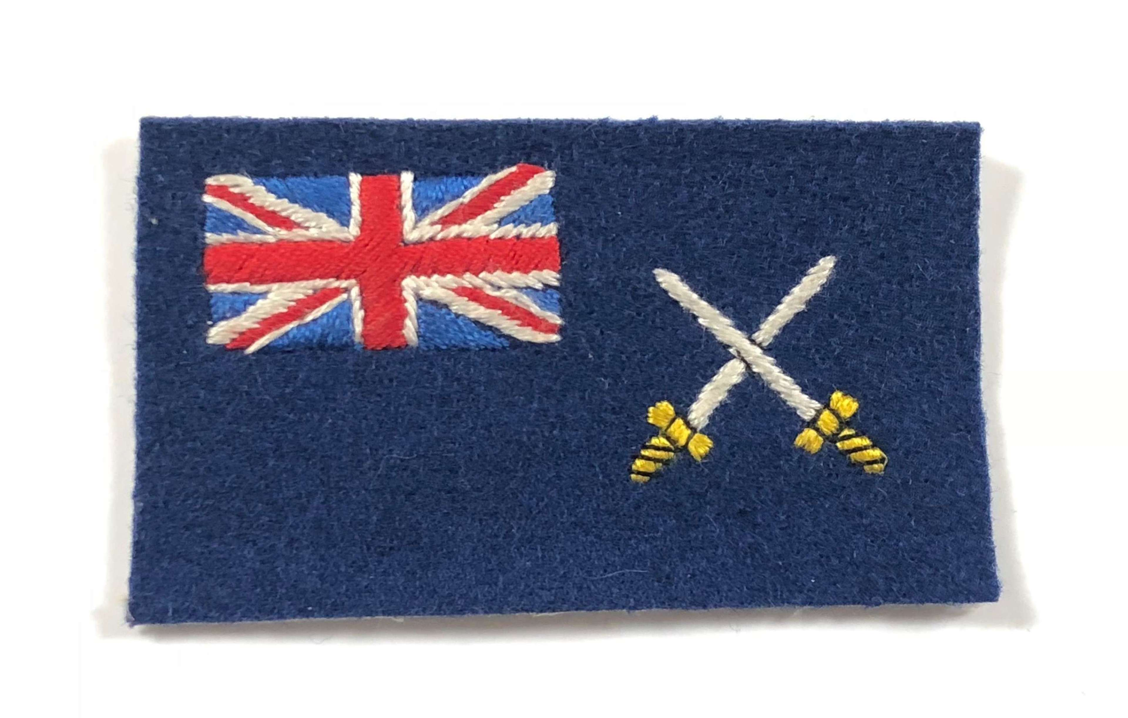 Cold War Period War Department Fleet Formation Cloth Badge.