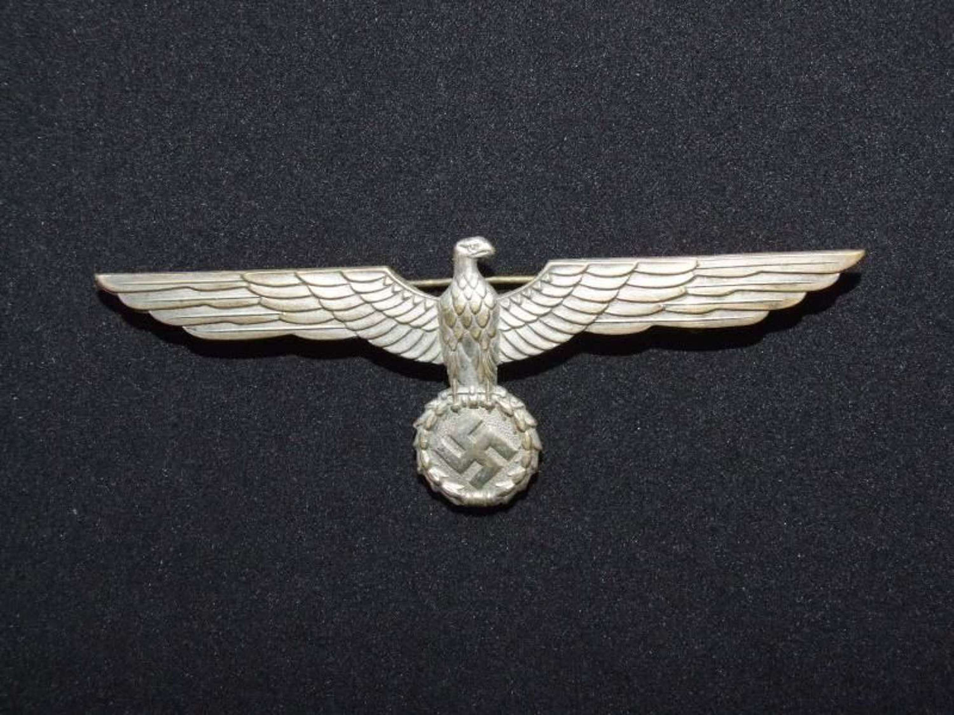 Army Officer's Pin Back Eagle for Summer Tunic