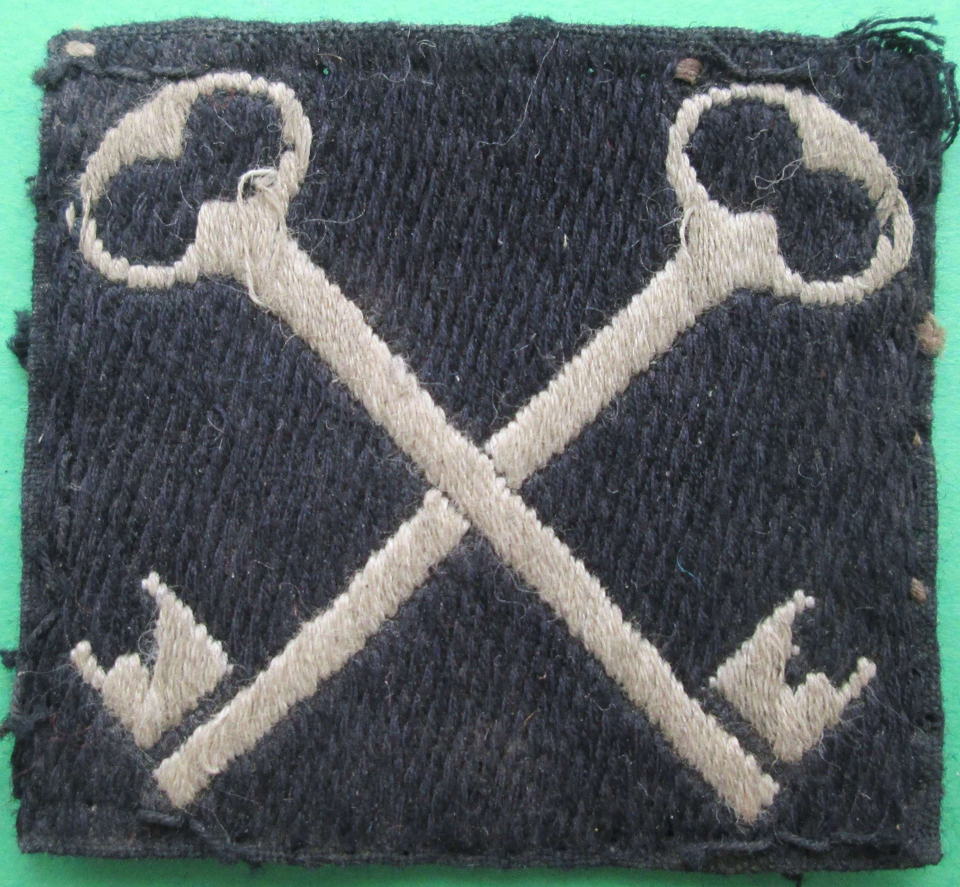 A SECOND INFANTRY DIVISION FORMATION PATCH