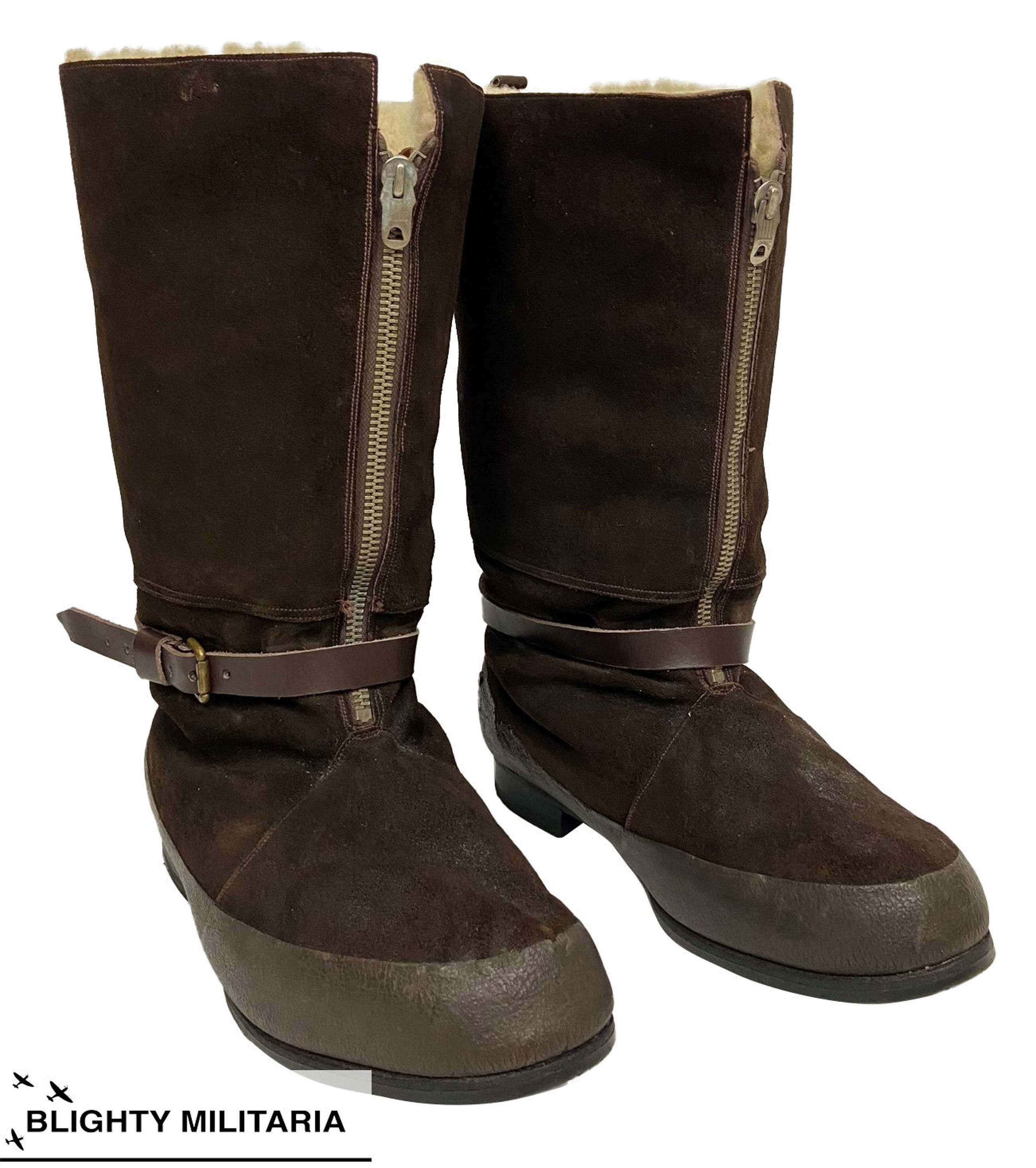 Original 1941 Pattern Flying Boots - Size 9