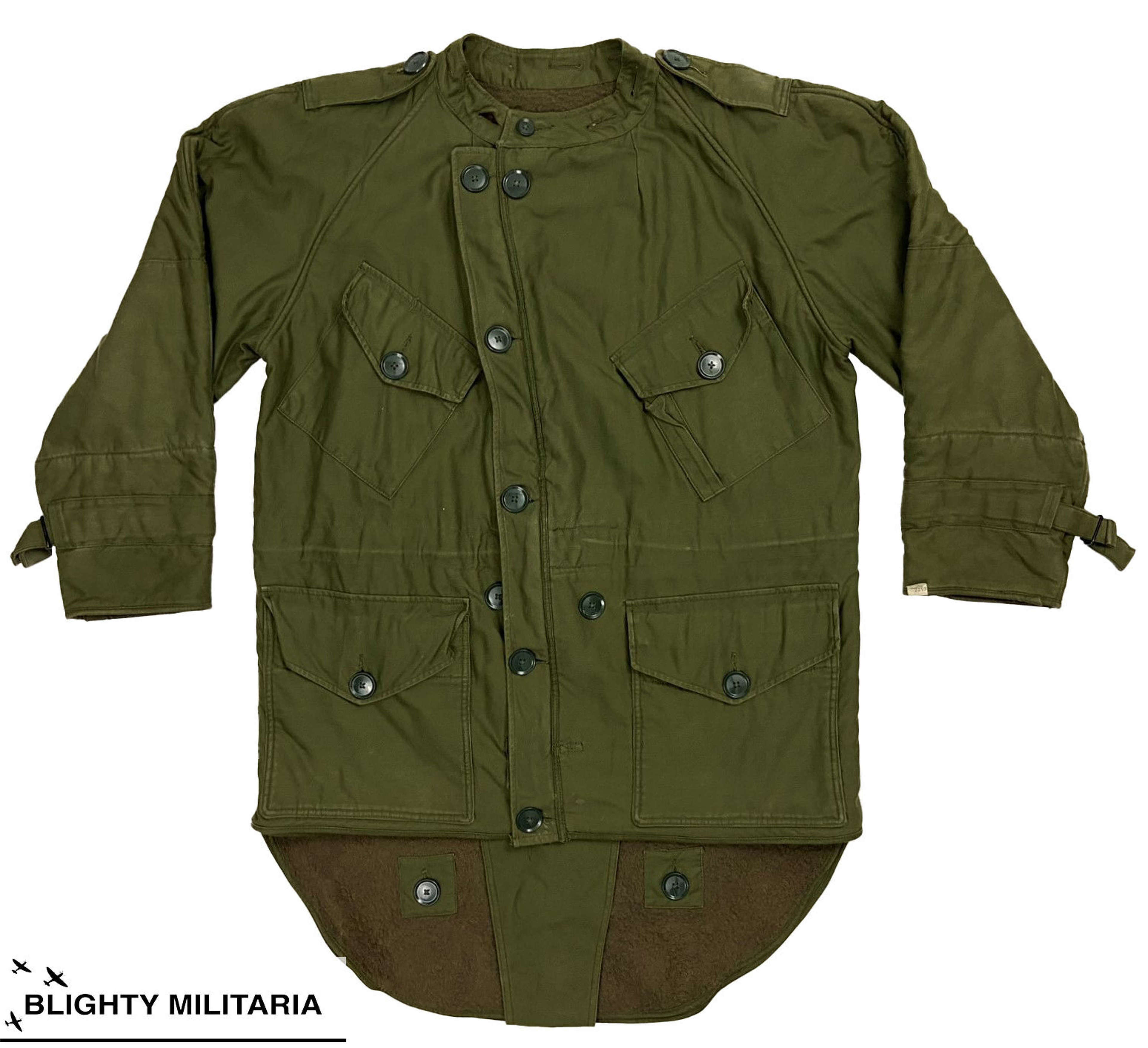 Original 1960s British Army Middle Parka - Size 5