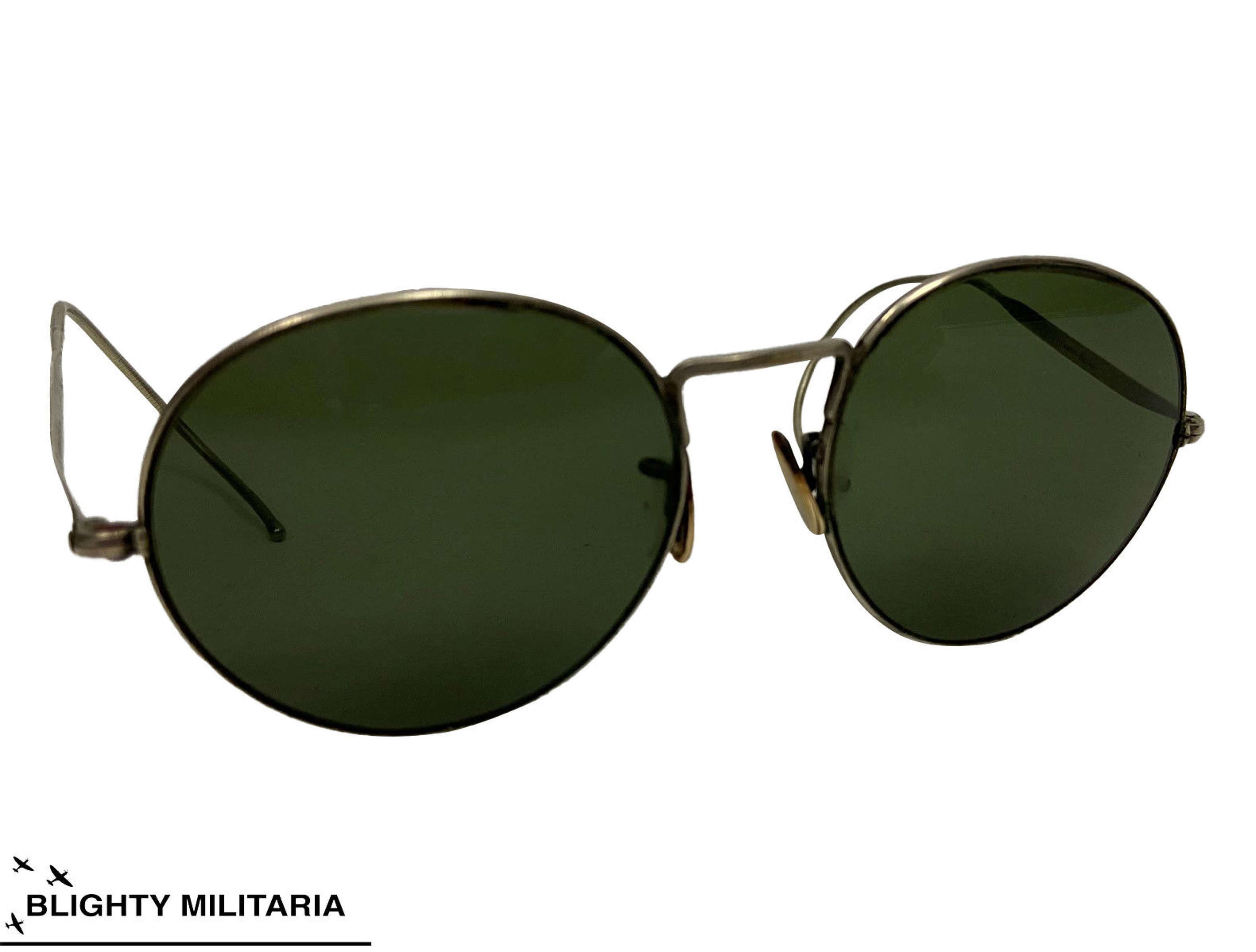 Original WW2 RAF MK VIII Anti Glare Spectacles Sunglasses