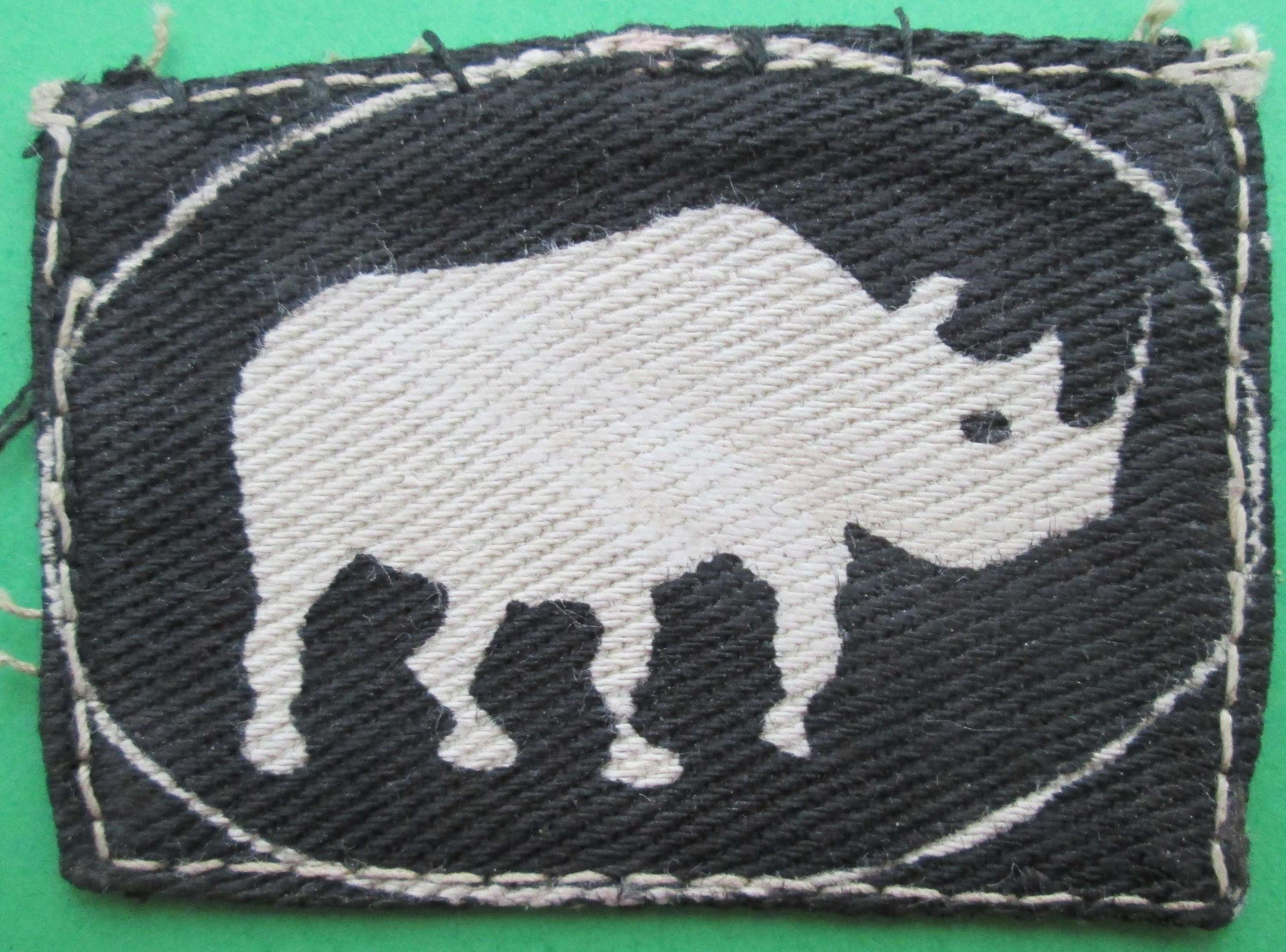 A 10TH ARMOURED DIVISION FORMATION SIGN