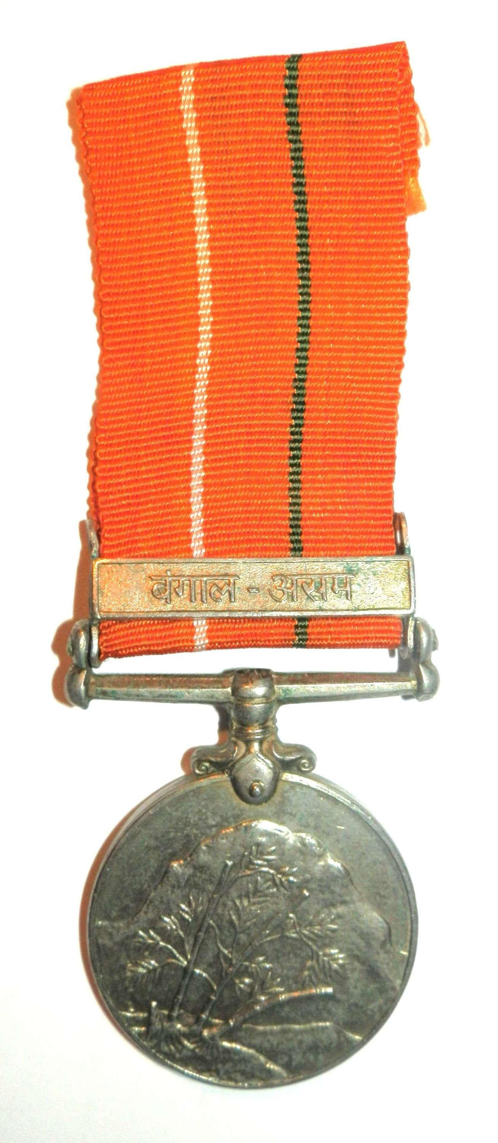 Sainya Seva Medal 1960, NK Durgadass Signals.