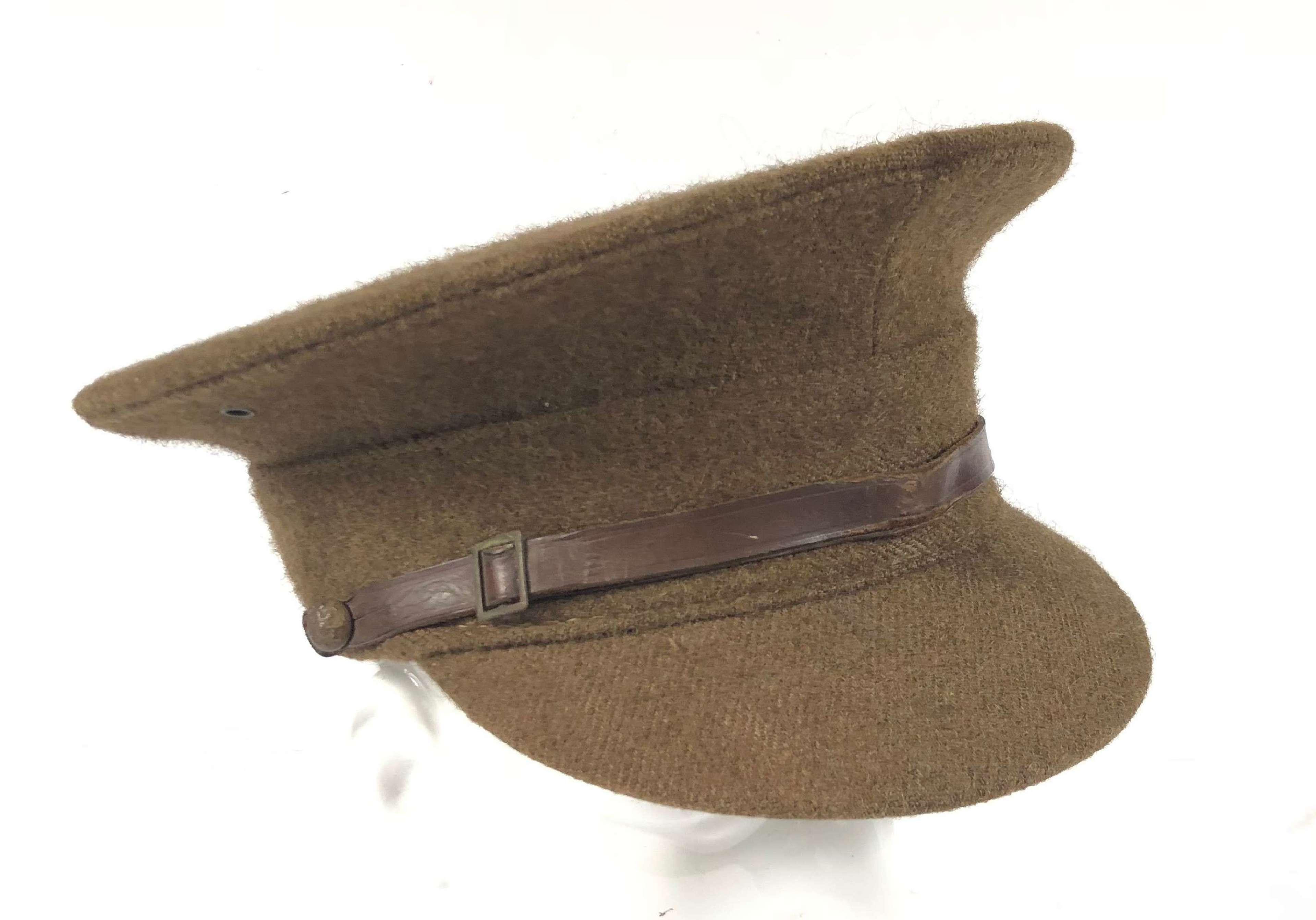 British Army Interwar Issue of the 1922 Pattern Service Cap.