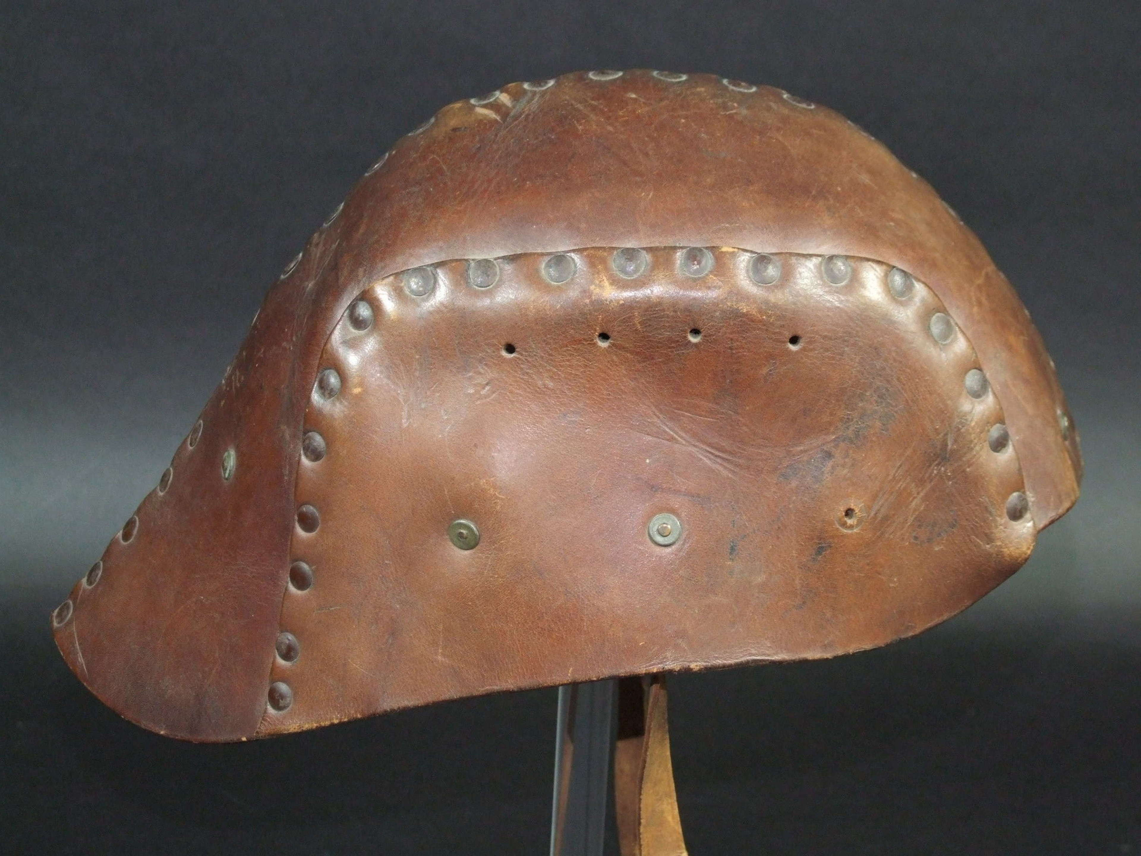WW1 British Tank Helmet. A Rare Published Item