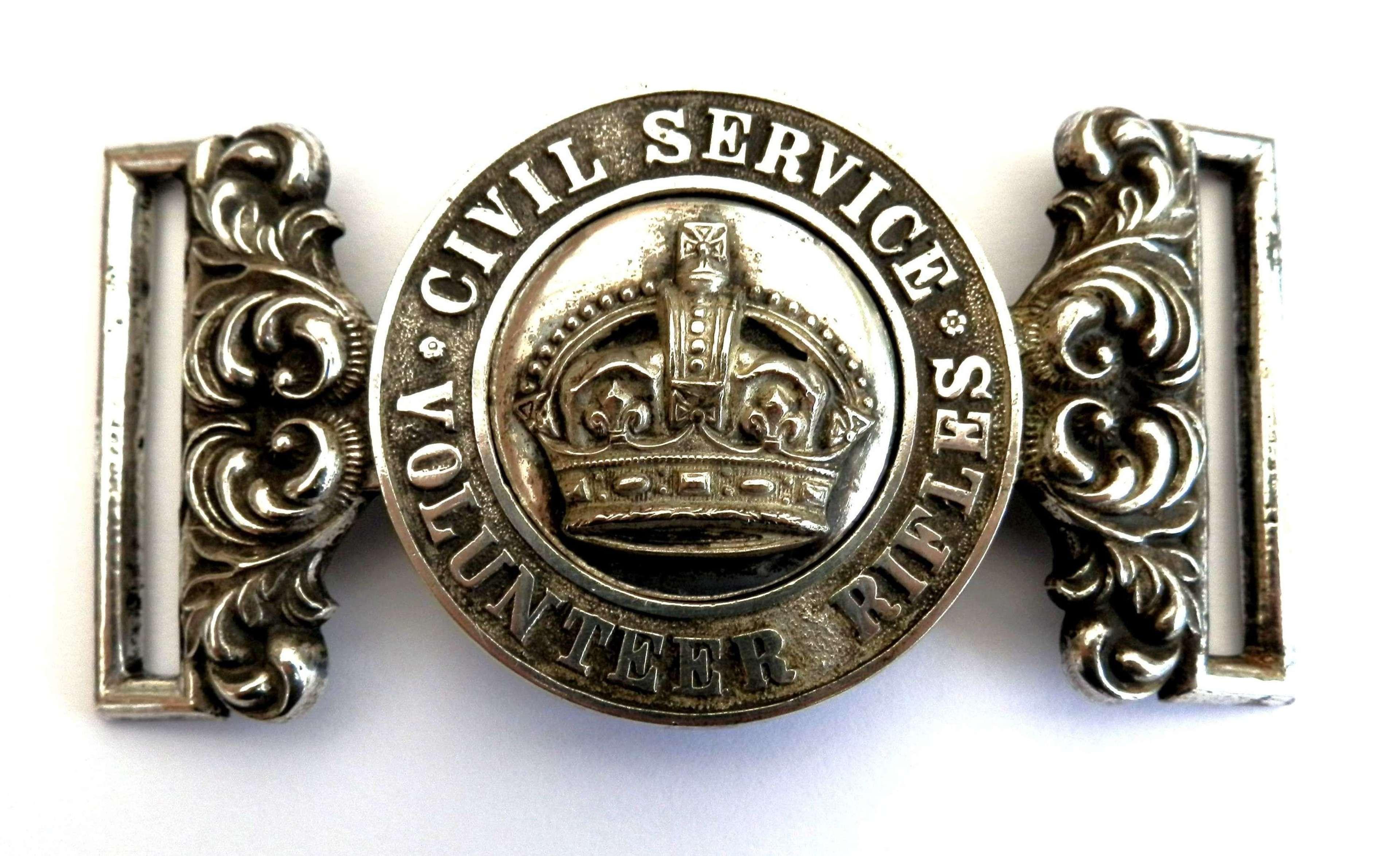 Civil Service Volunteers Waist Belt Clasp.