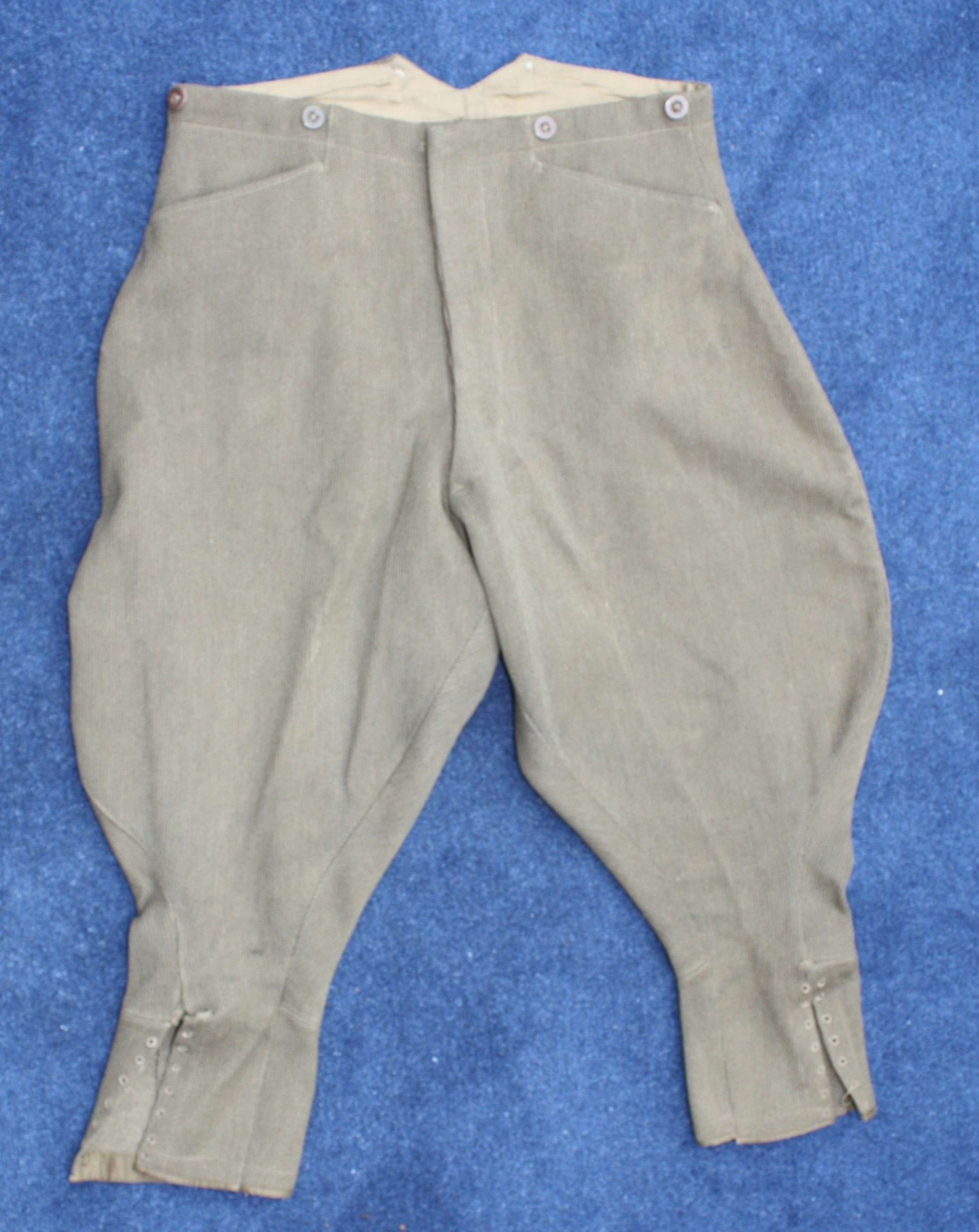 A Good pair of British Army Bedford Cord Officer's Breeches