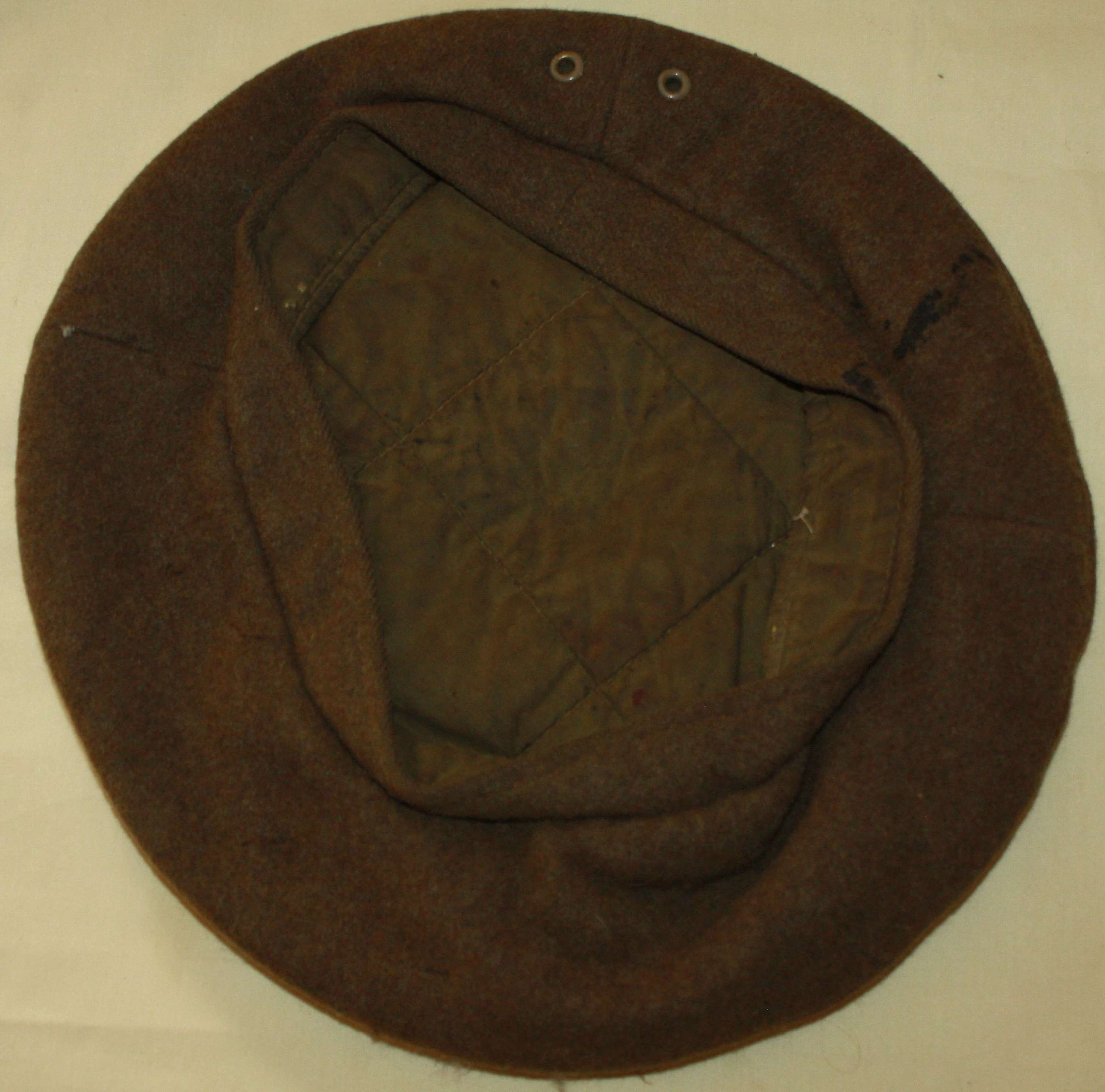 A GOOD USED WWII GS CAP SIZE IS A 6 3/4 APROX