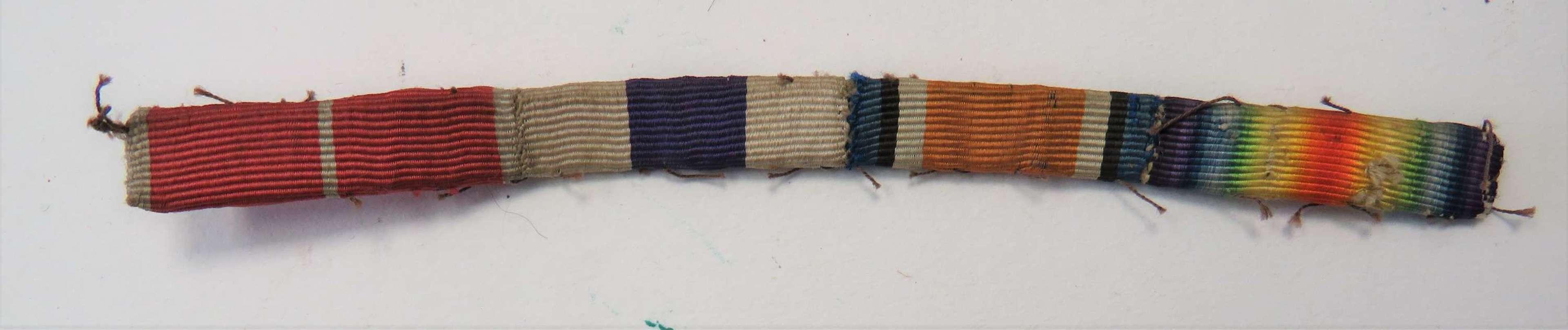 WW1 OBE / MC / WW1 Medal Ribbon Bar