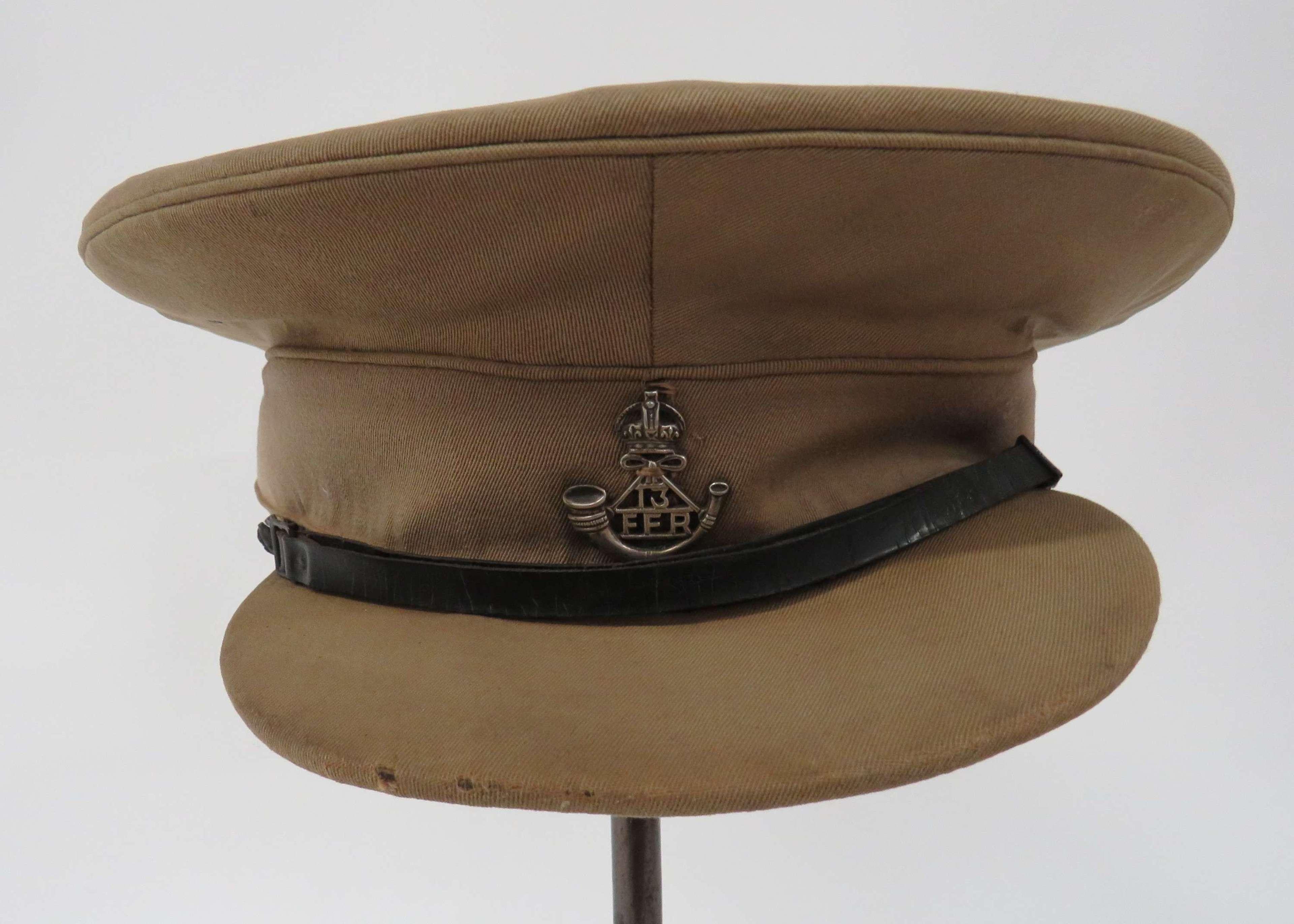 Rare WW1 / Interwar 13th Frontier Force Rifles Officers Cap