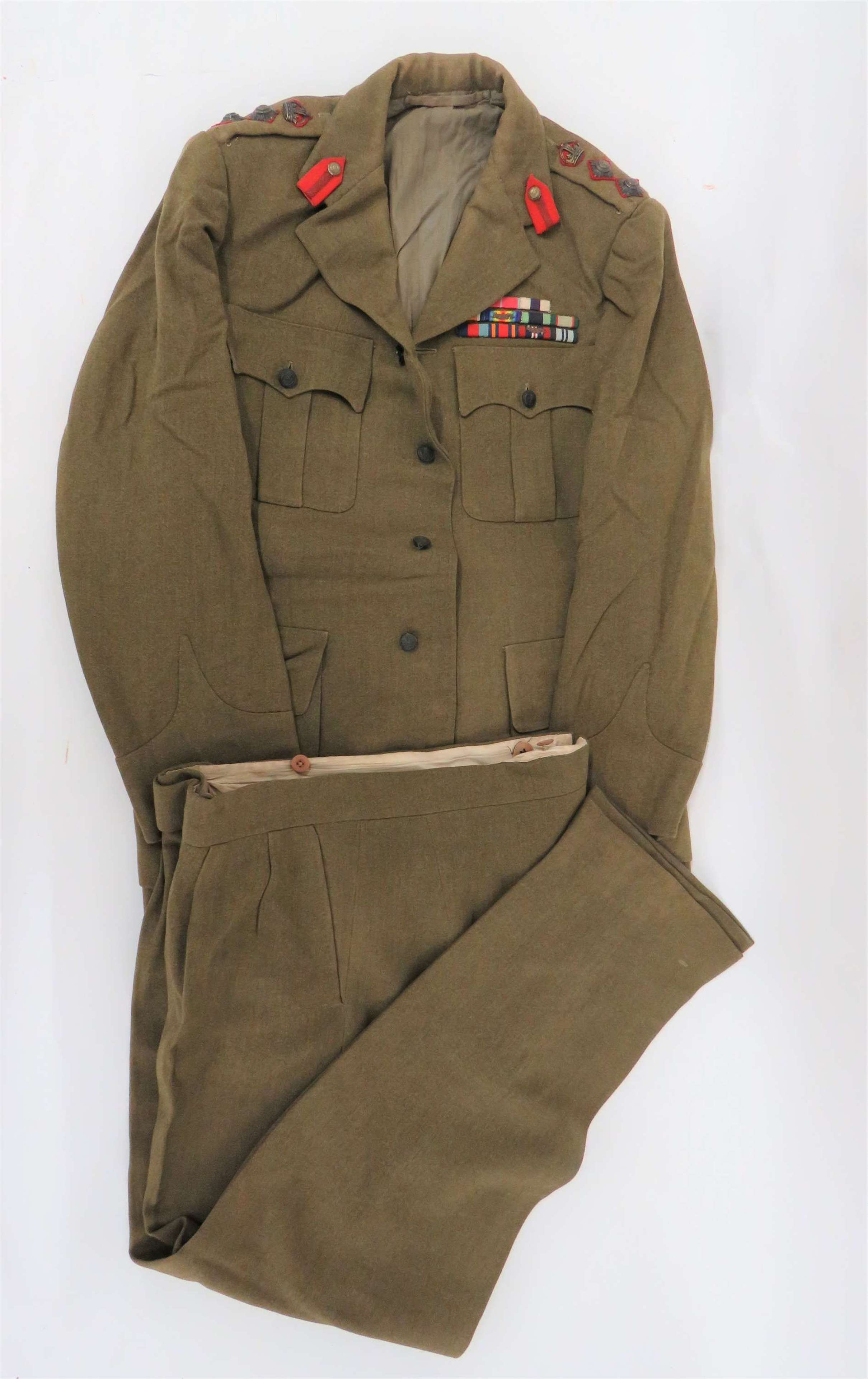 Superb Staff Officers Service Tunic and Trousers