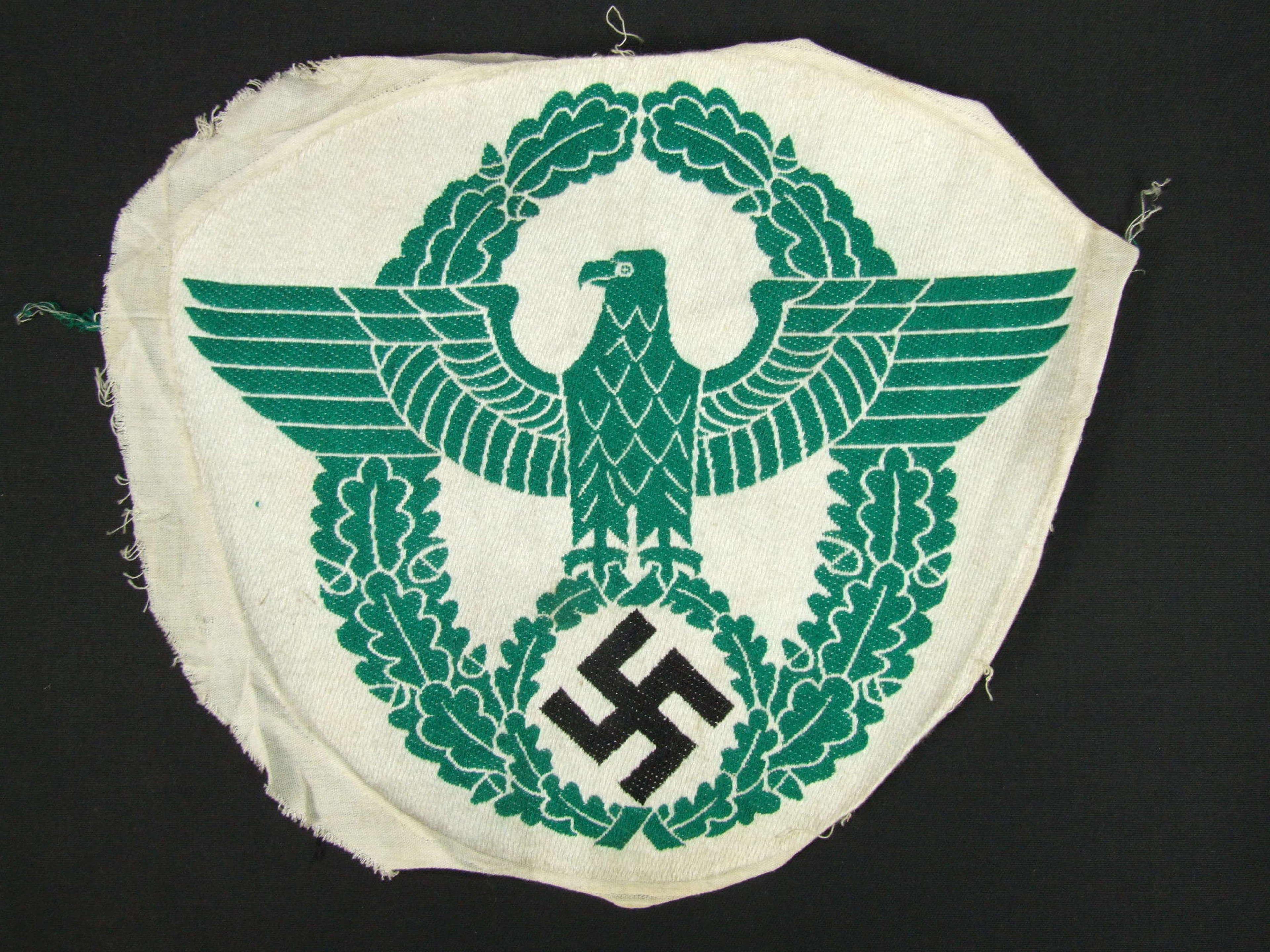 German Police Sports Vest Insignia
