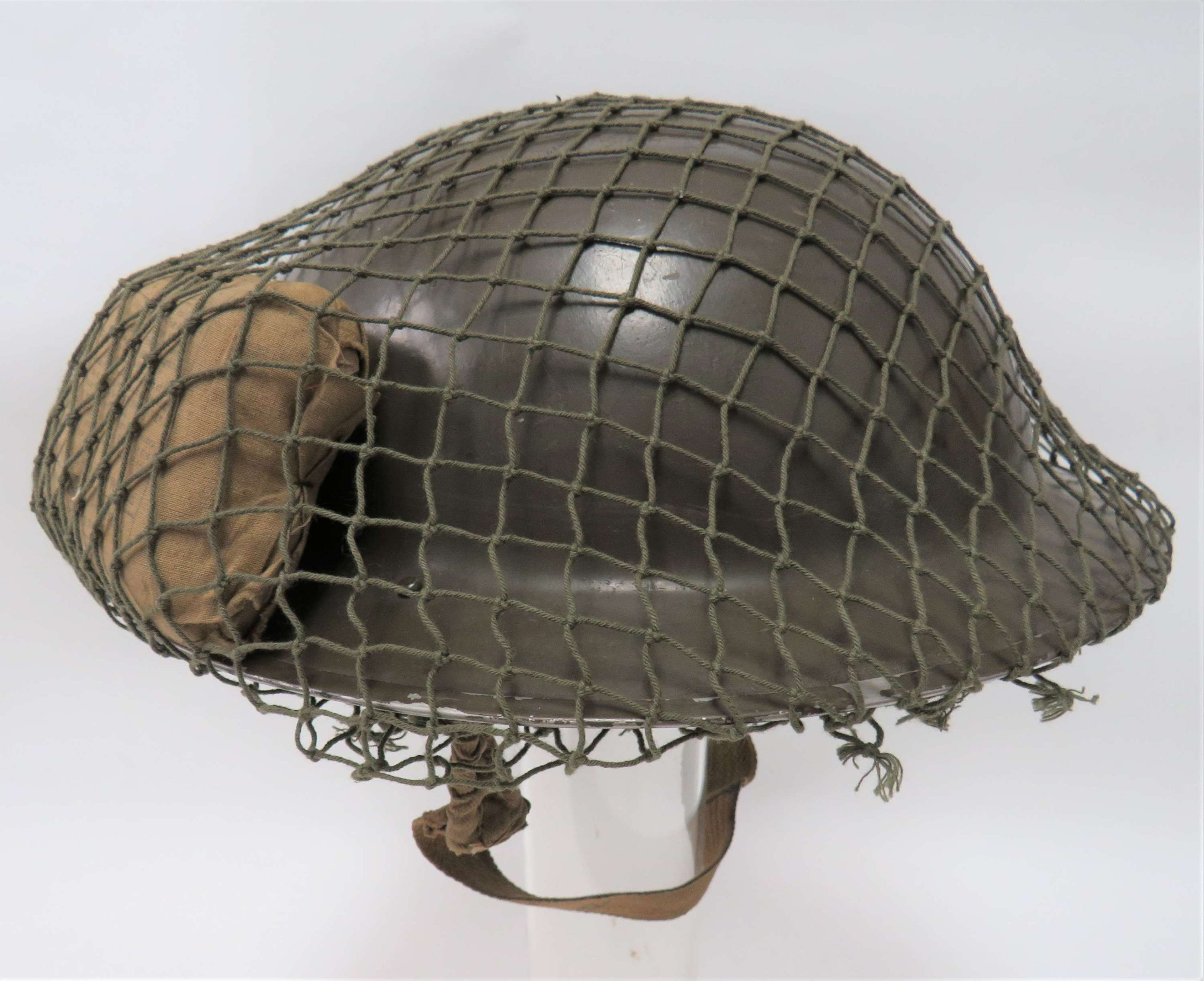 1938 Dated Steel Helmet and First Aid Dressing Typical for Dunkirk