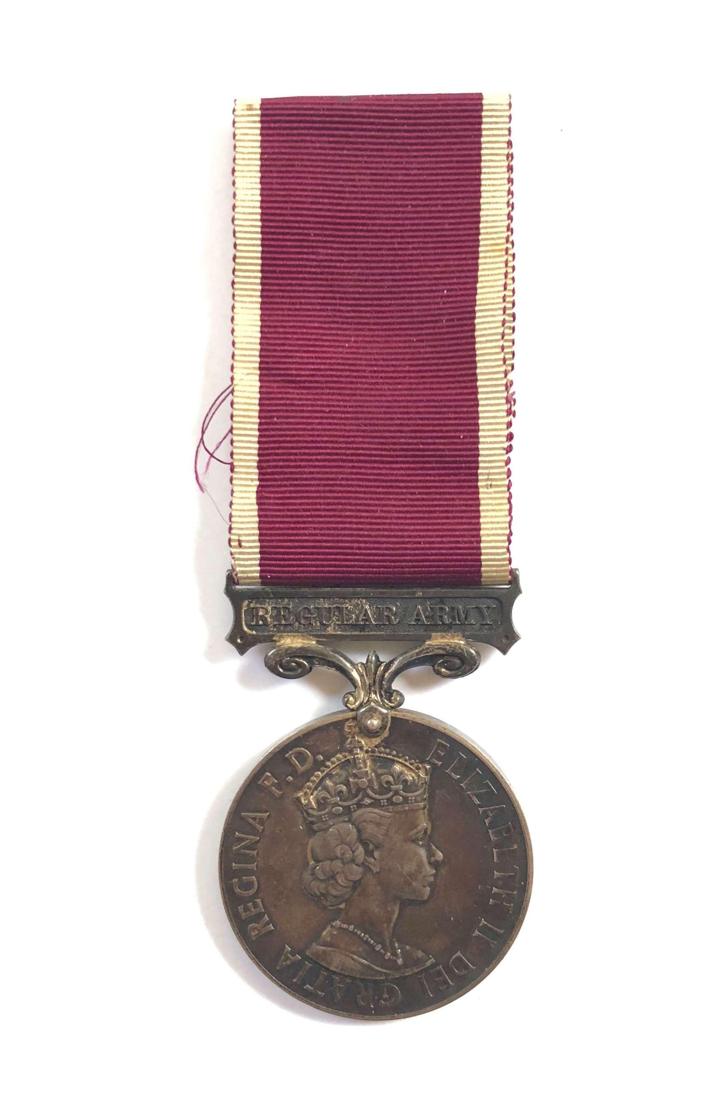 Royal Army Ordinance Corps Regular Army Long Service Medal.