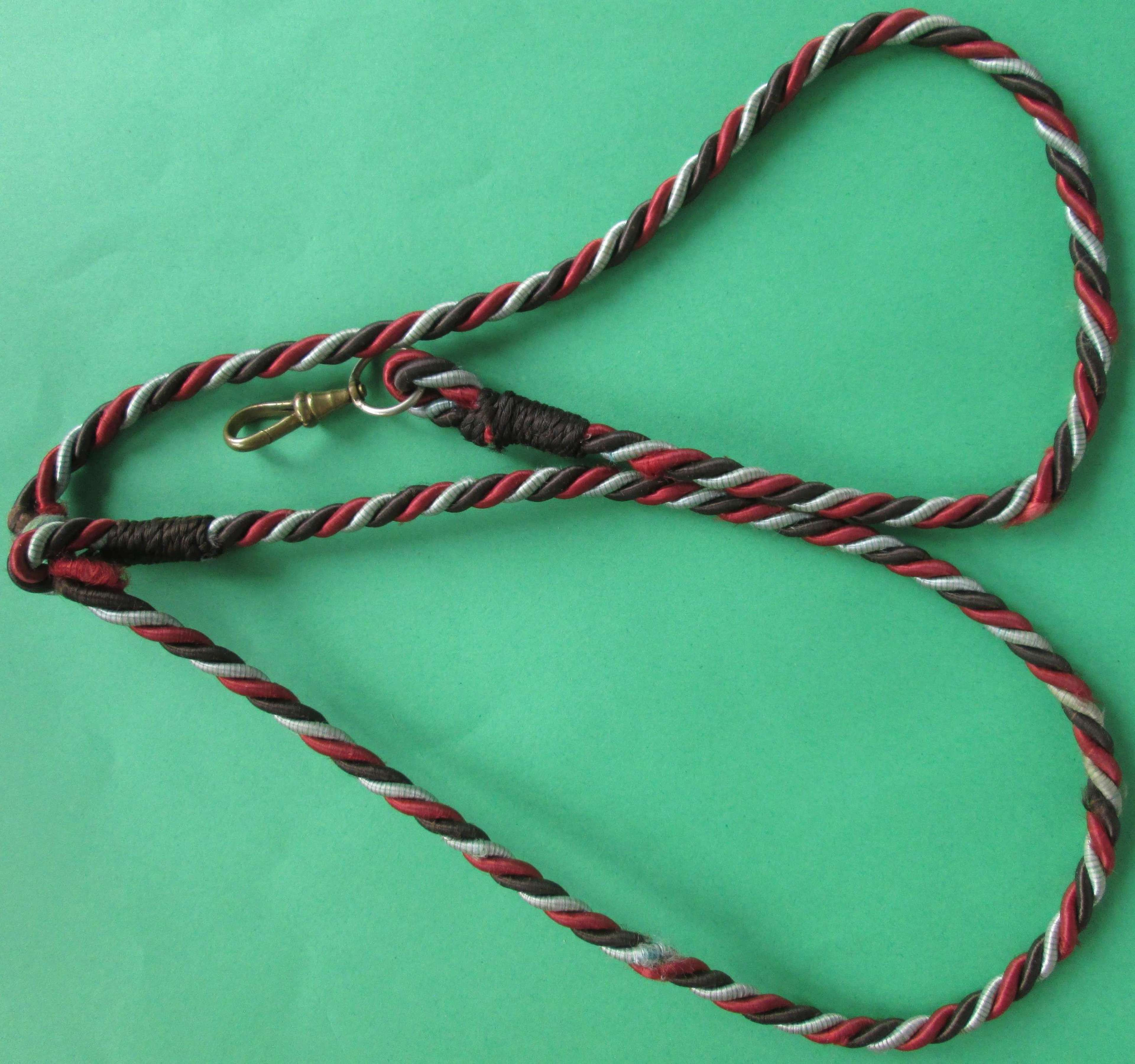AN OFFICER'S LANYARD FOR THE AUXILLARY TERRITORIAL SERVICE