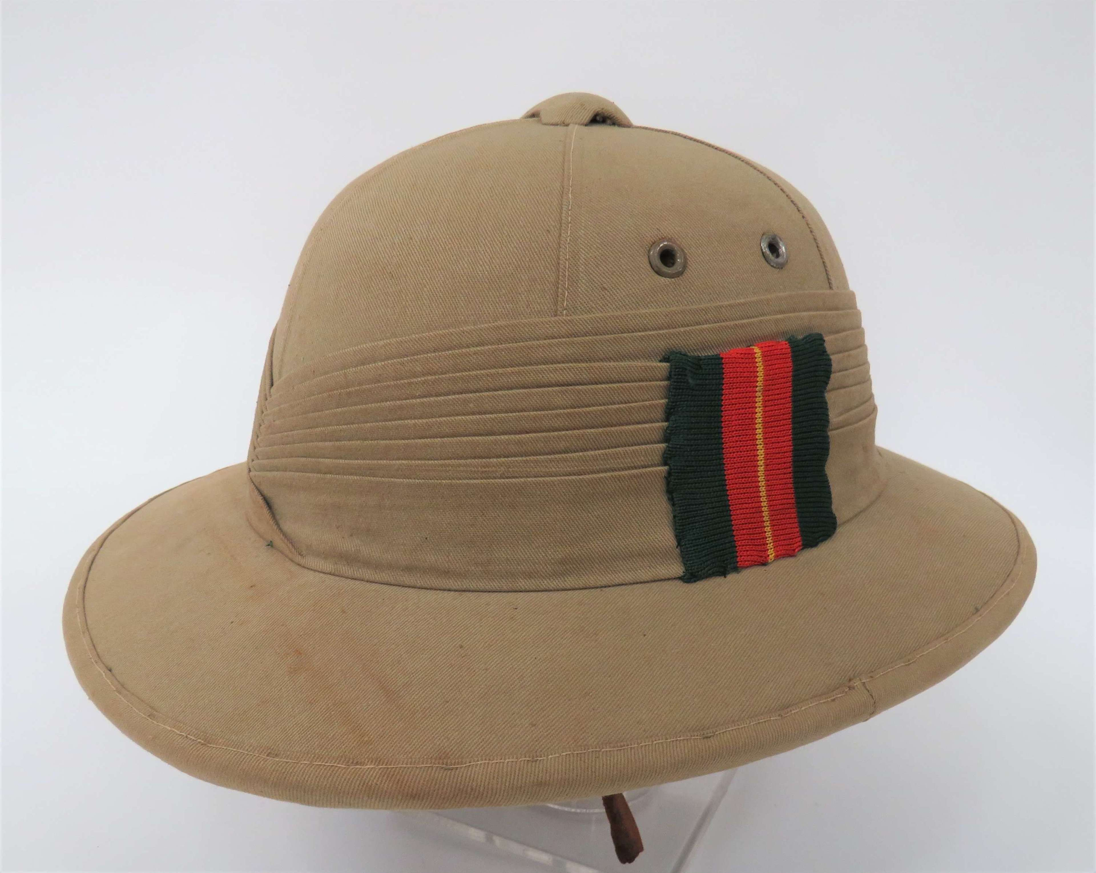 13th Frontier Force Rifles Pith Helmet