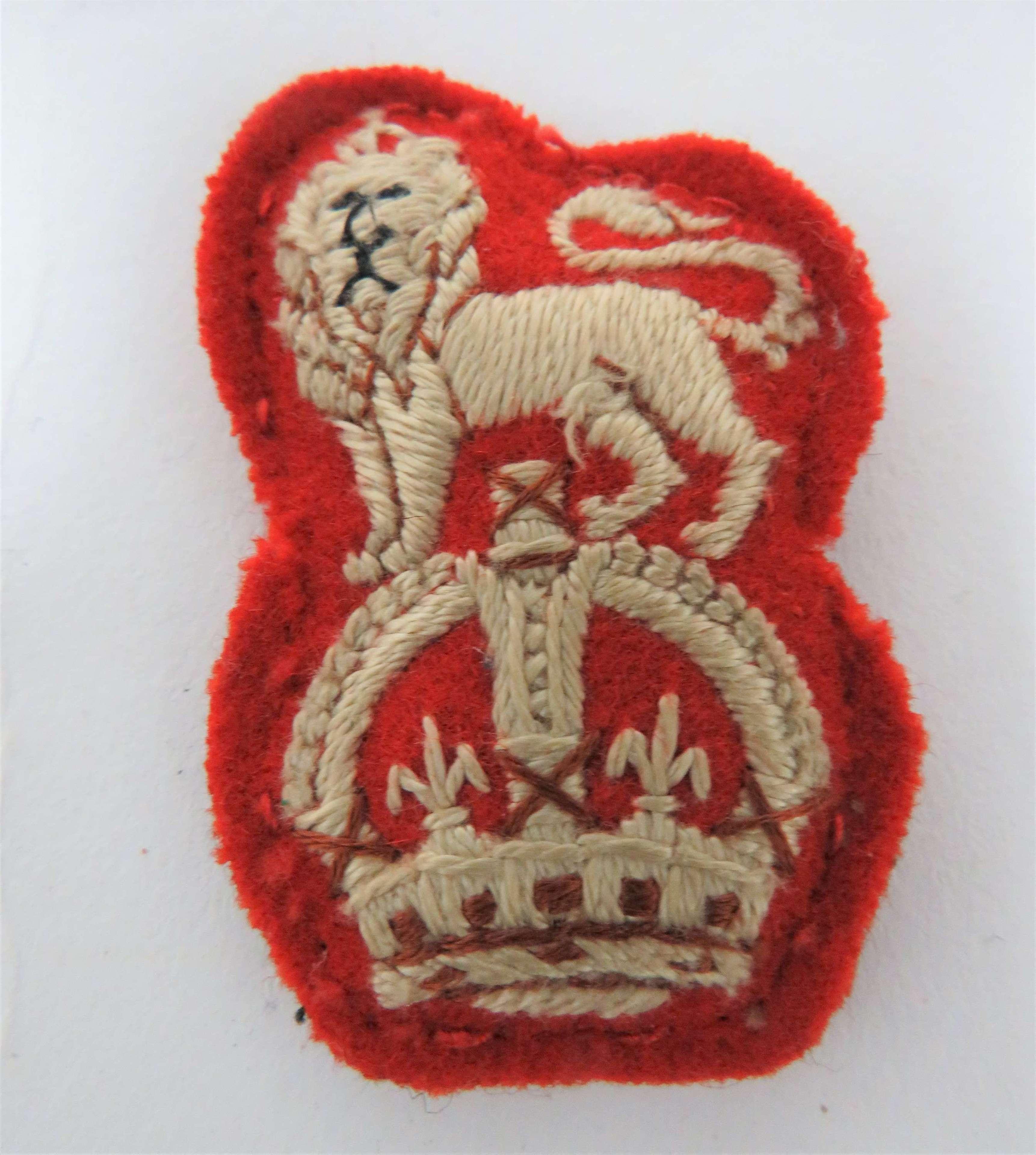 15th/19th Hussars Arm Badge